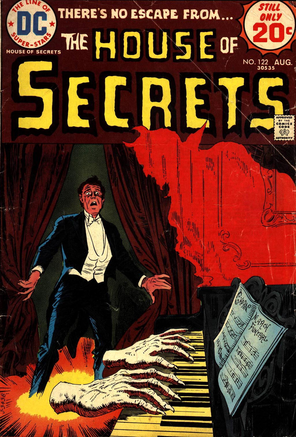 House of Secrets (1956) issue 122 - Page 1