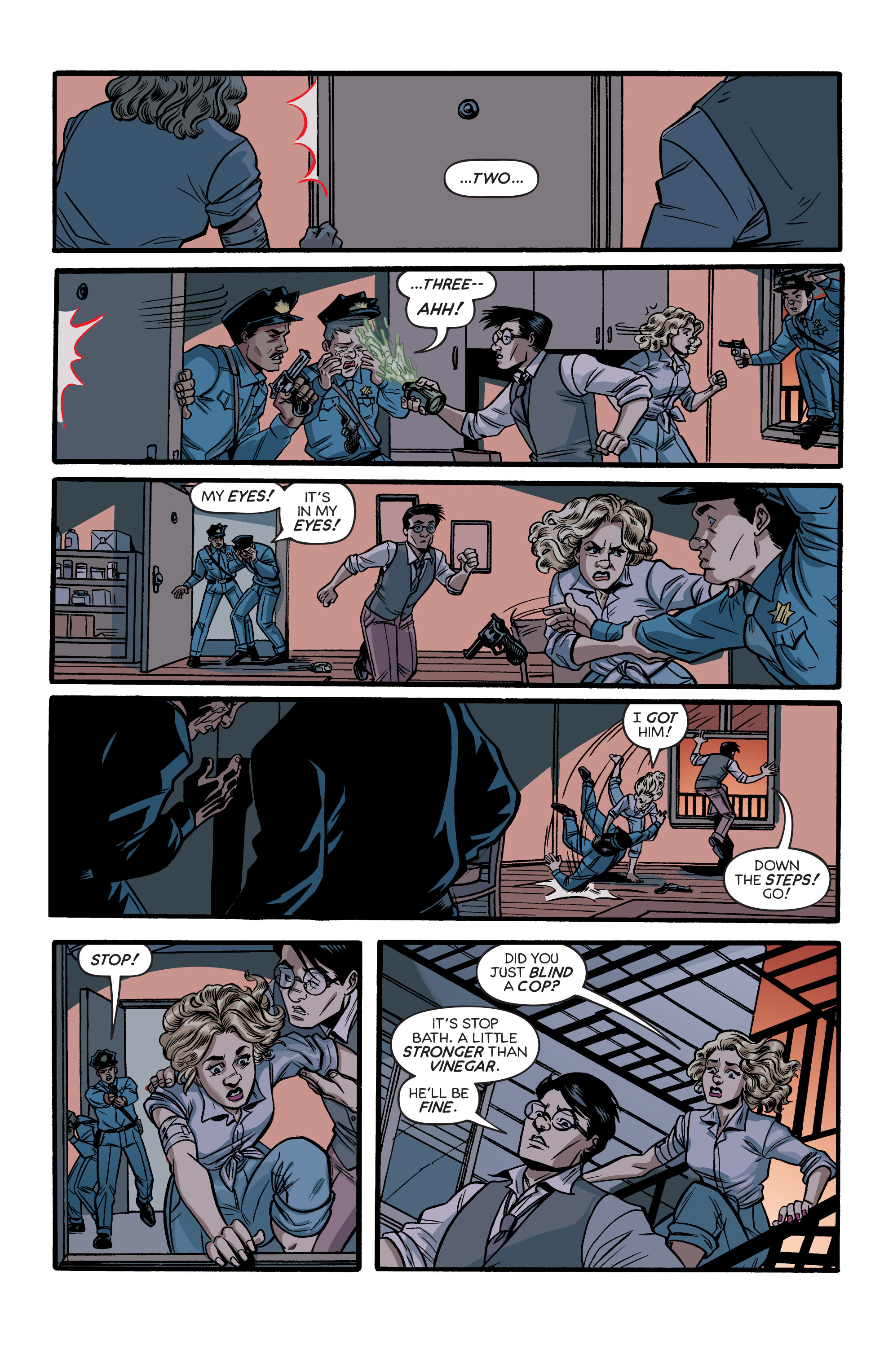 Read online Angel City comic -  Issue #5 - 17
