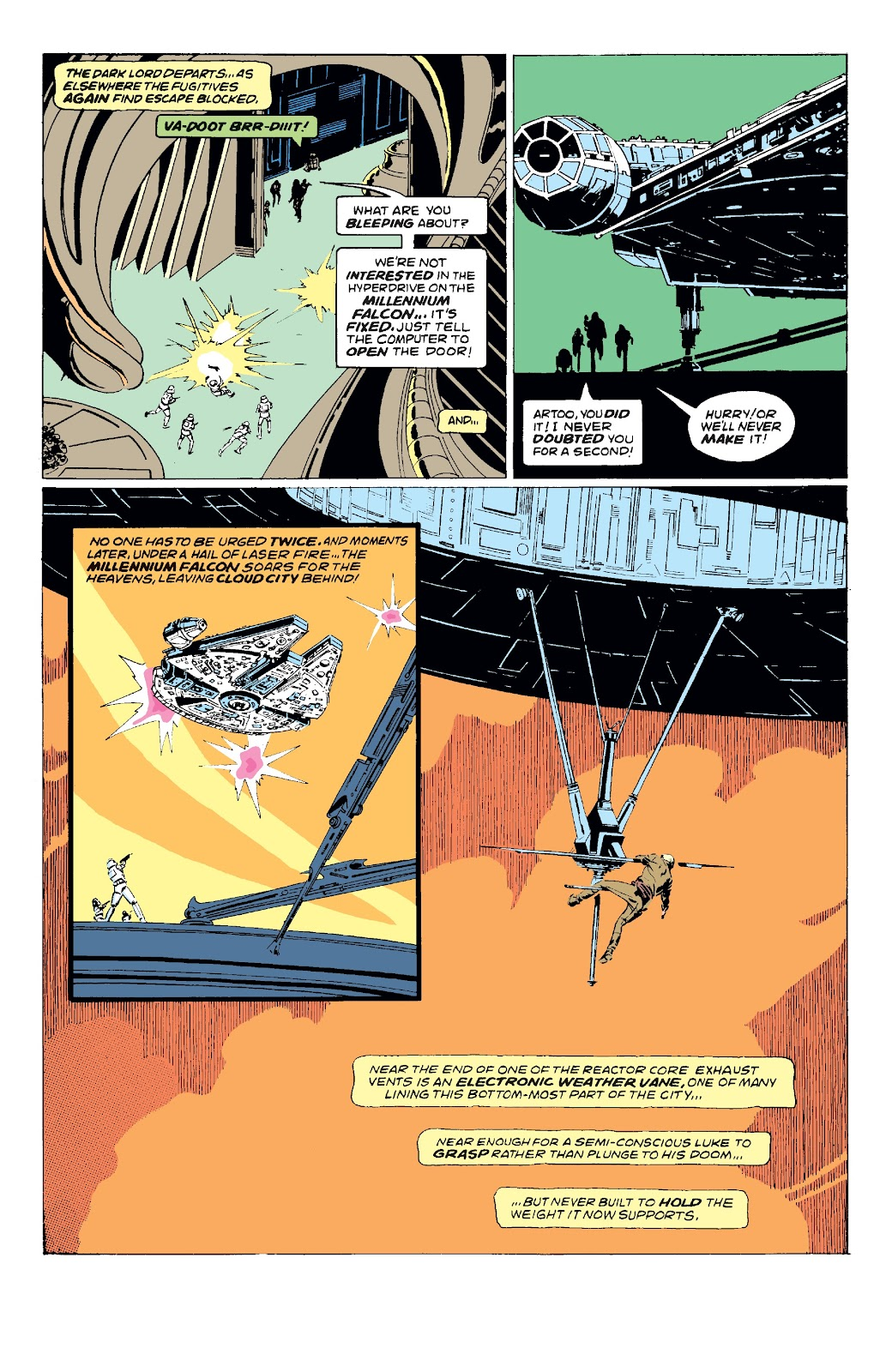Read online Star Wars Legends: The Original Marvel Years - Epic Collection comic -  Issue # TPB 3 (Part 2) - 8
