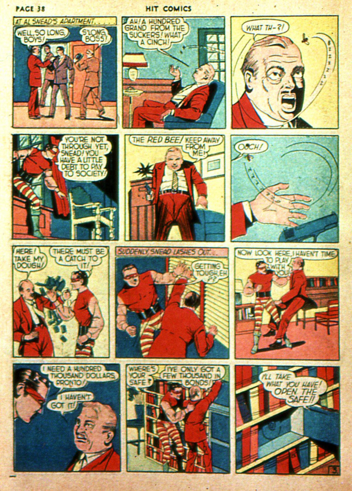 Read online Hit Comics comic -  Issue #2 - 40