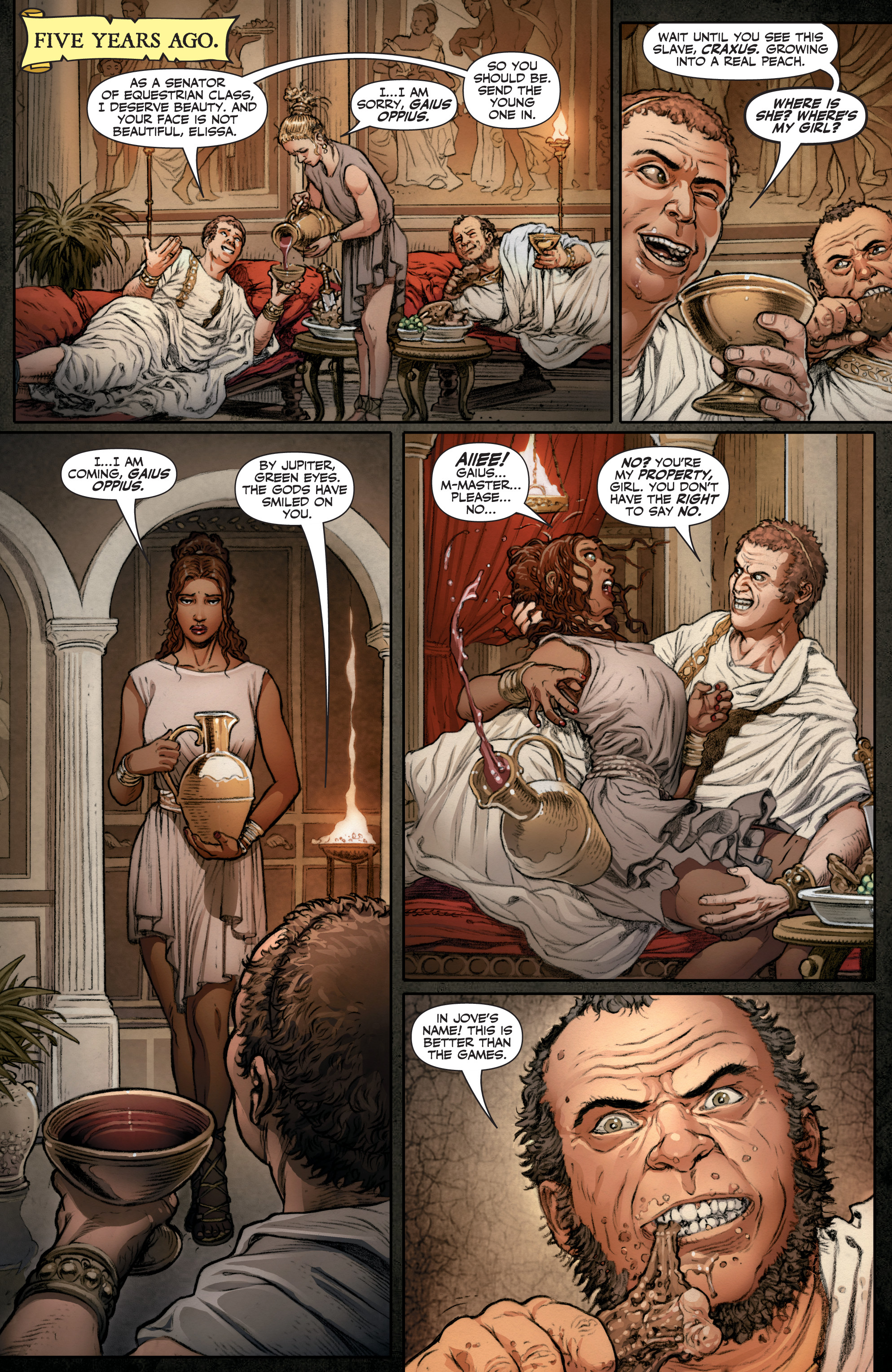 Read online Britannia: We Who Are About To Die comic -  Issue #1 - 6
