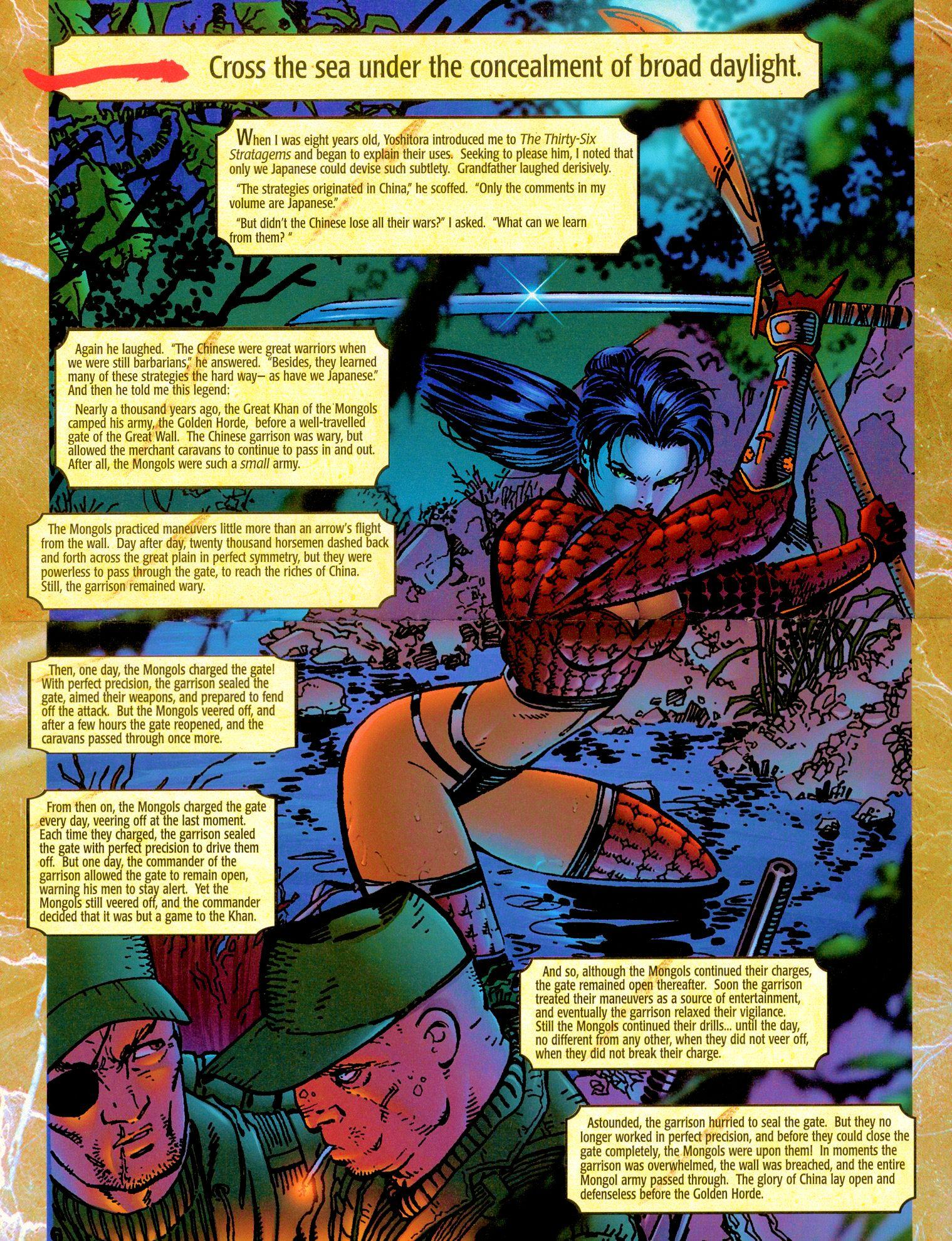 Read online Shi: Senryaku comic -  Issue #1 - 6