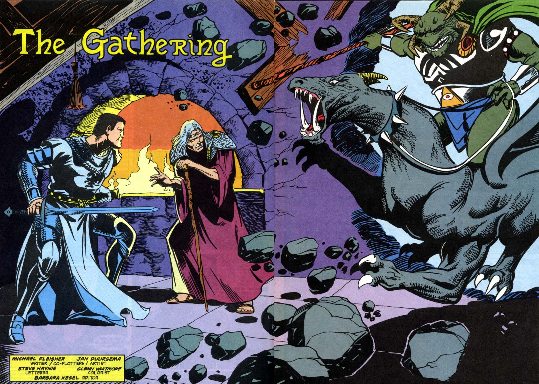 Read online Advanced Dungeons & Dragons comic -  Issue #1 - 3