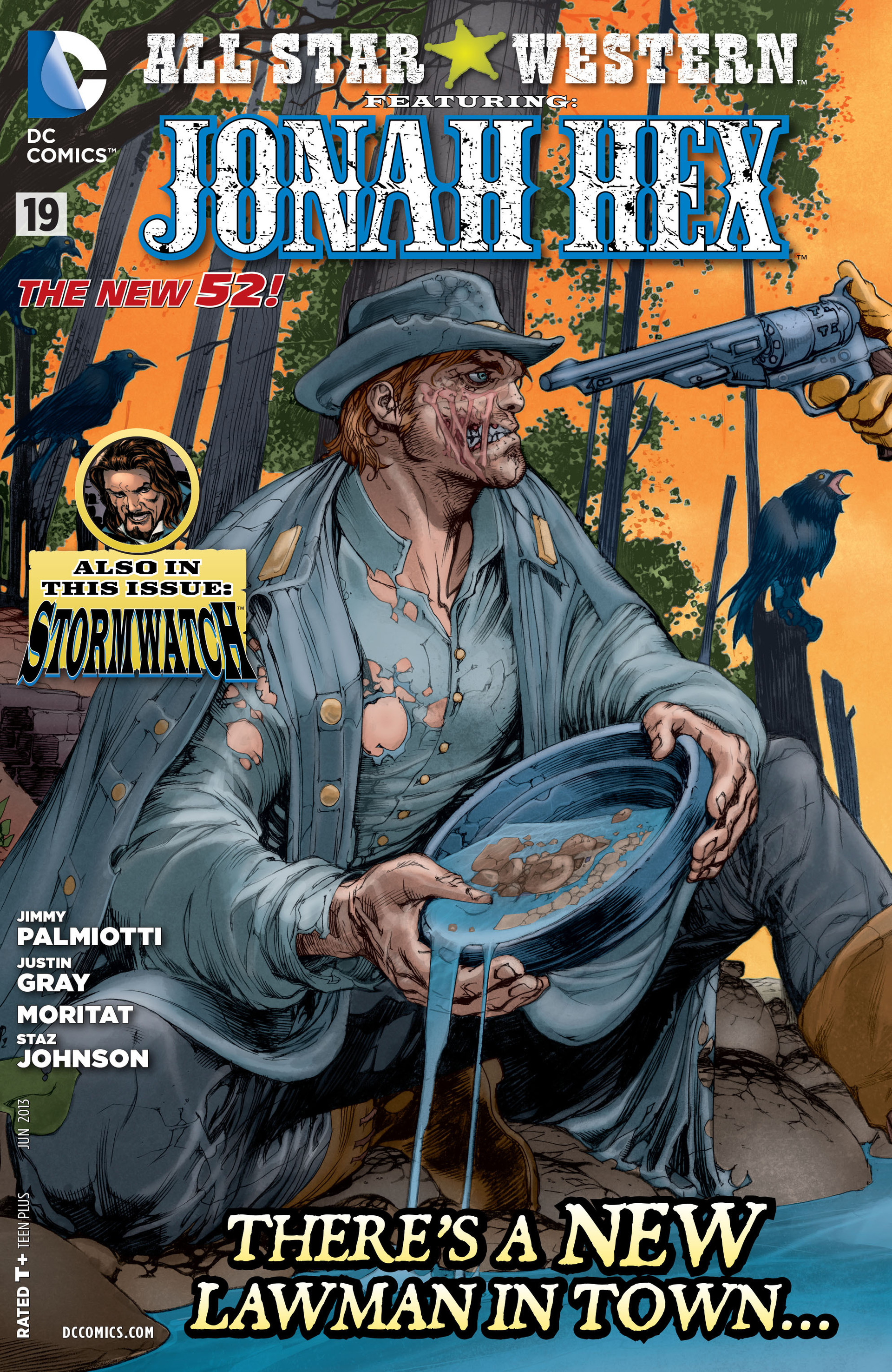 Read online All-Star Western (2011) comic -  Issue #19 - 1