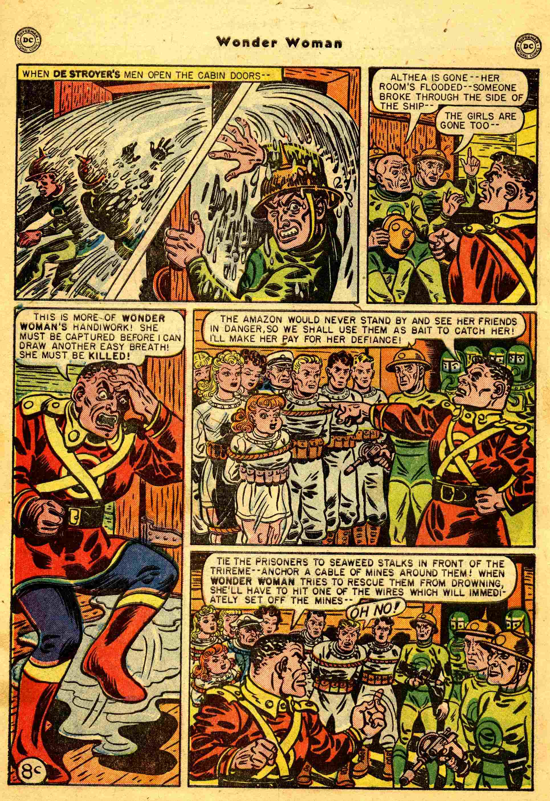 Read online Wonder Woman (1942) comic -  Issue #44 - 33