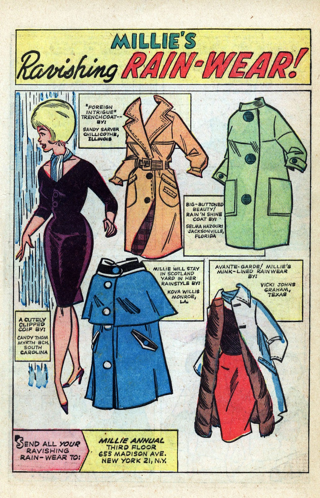 Read online Millie the Model comic -  Issue # Annual 3 - 61