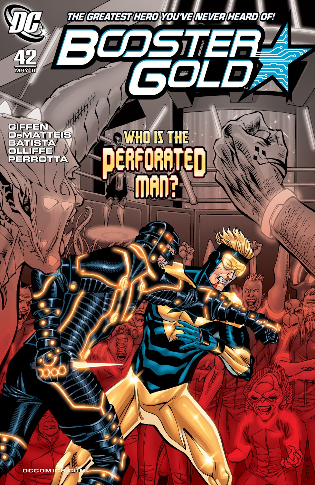 Booster Gold (2007) issue 42 - Page 1