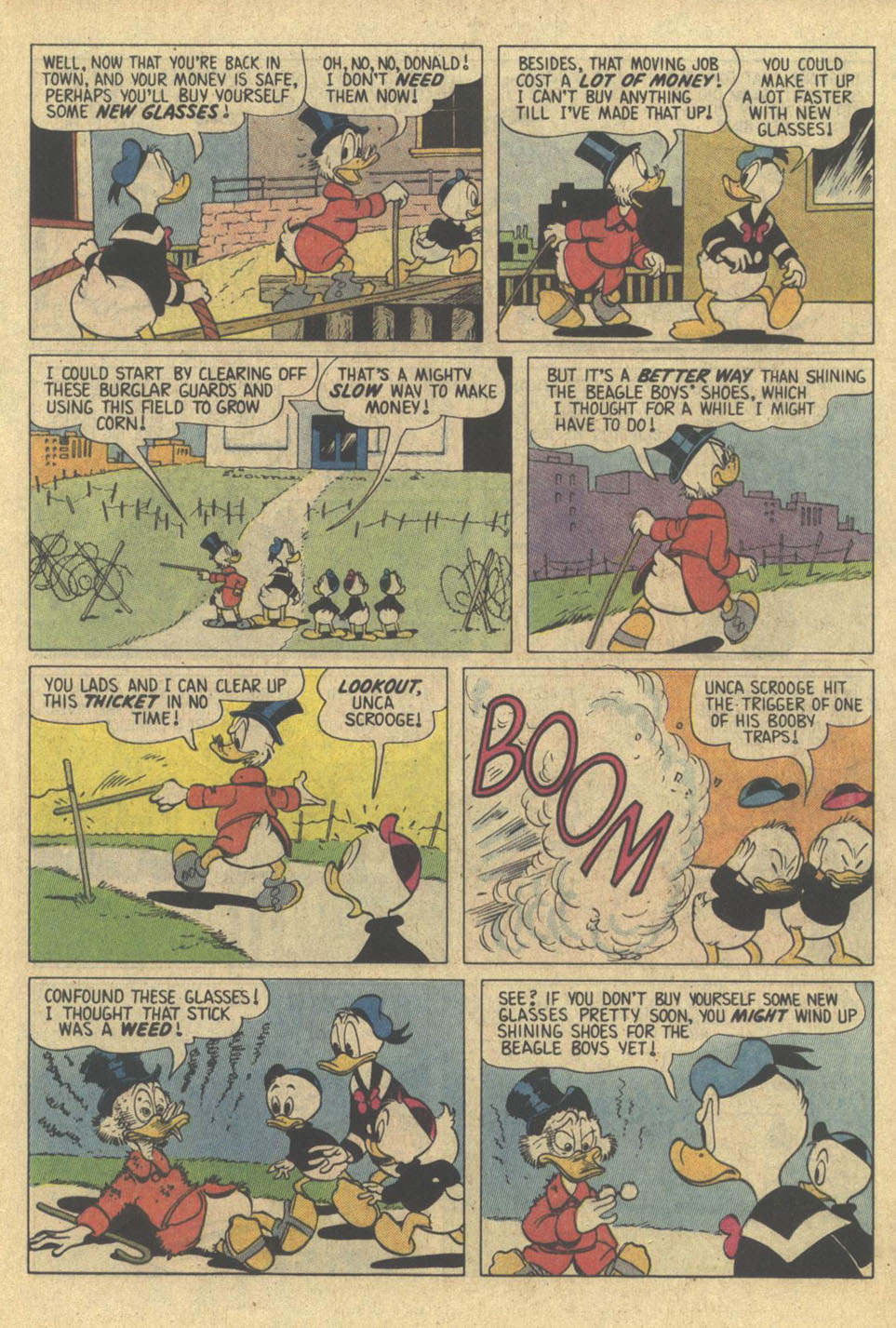 Read online Uncle Scrooge (1953) comic -  Issue #209 - 17