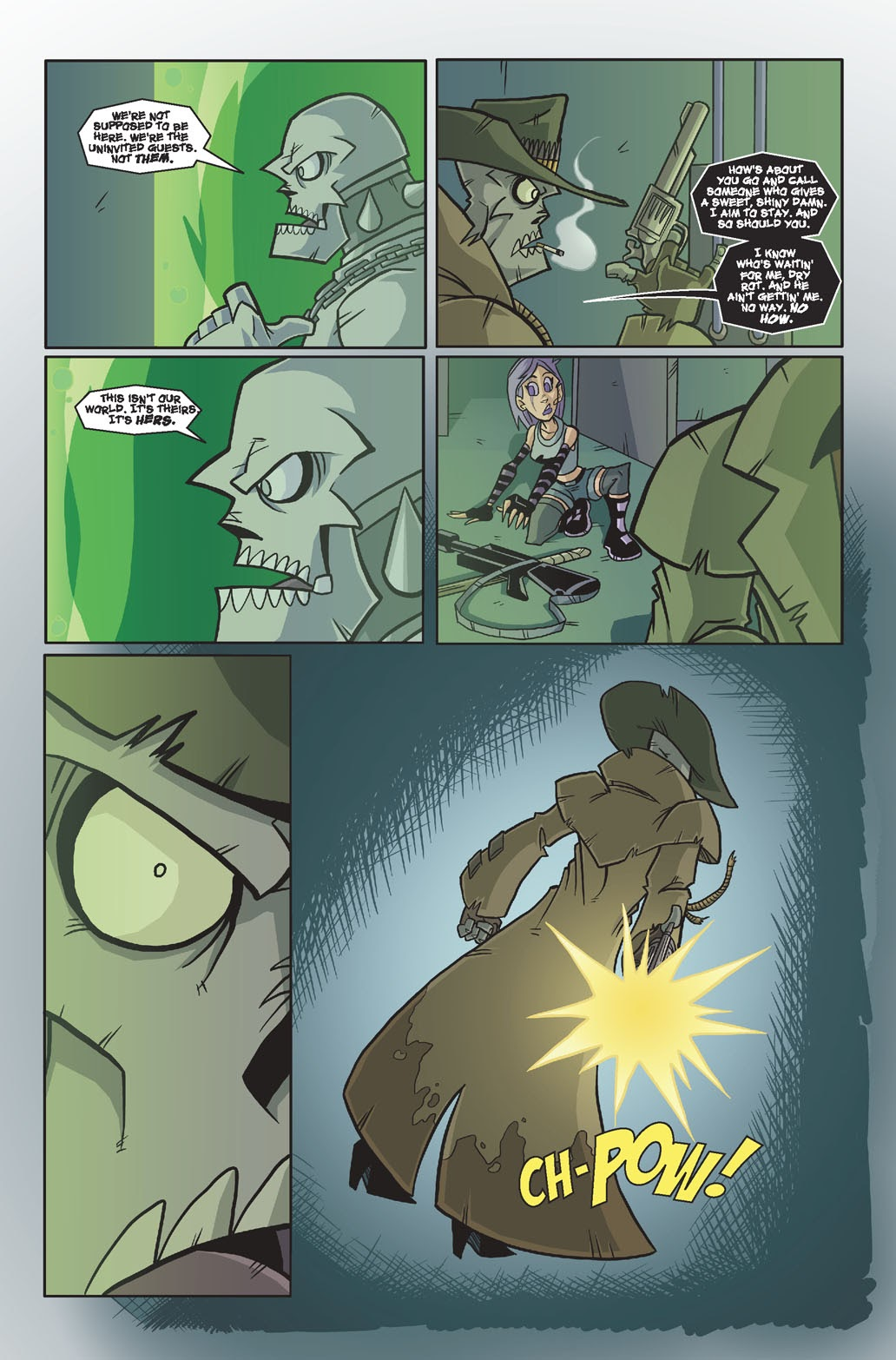 Read online Xombie Reanimated comic -  Issue #4 - 23