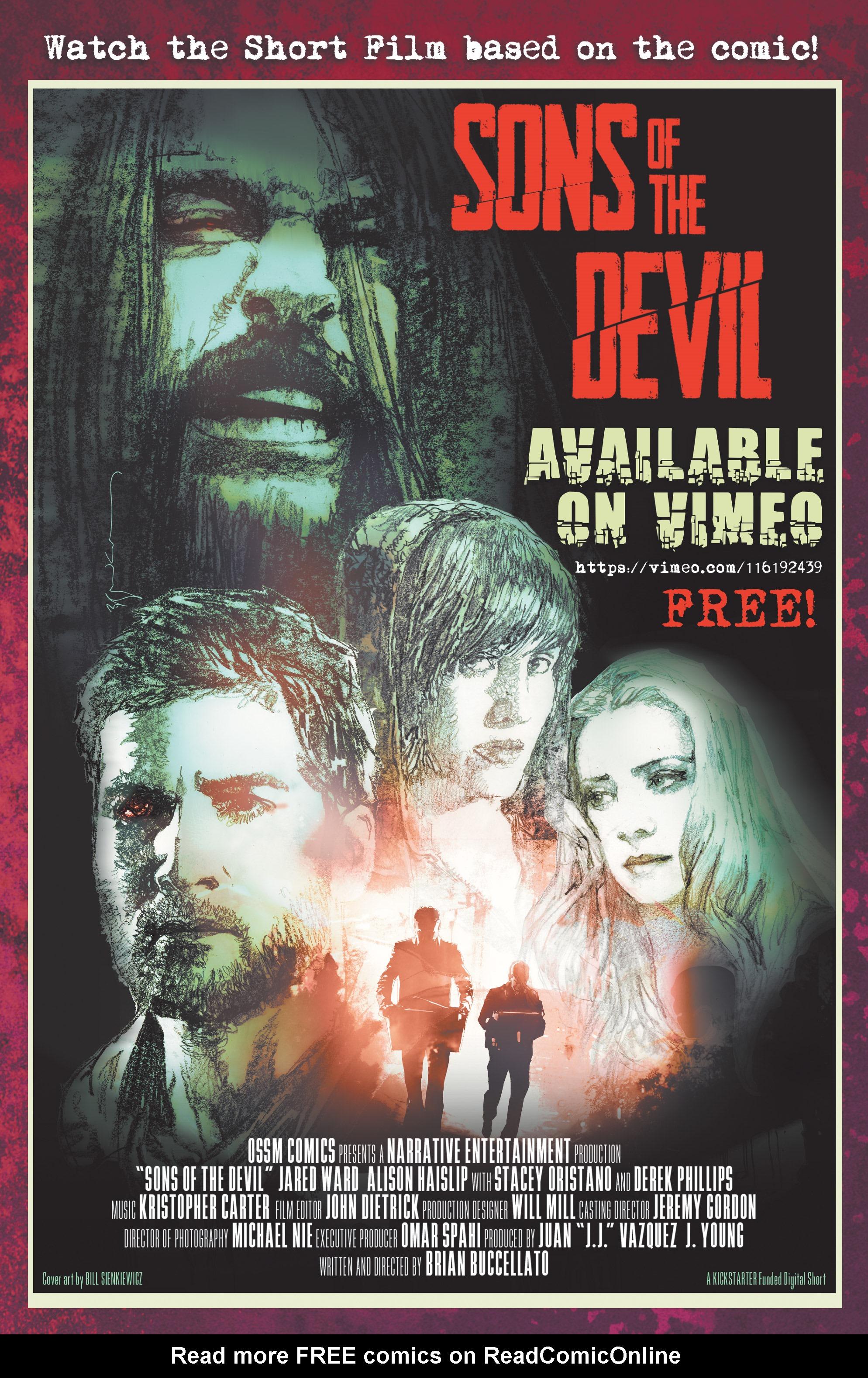 Read online Sons of the Devil comic -  Issue #13 - 25