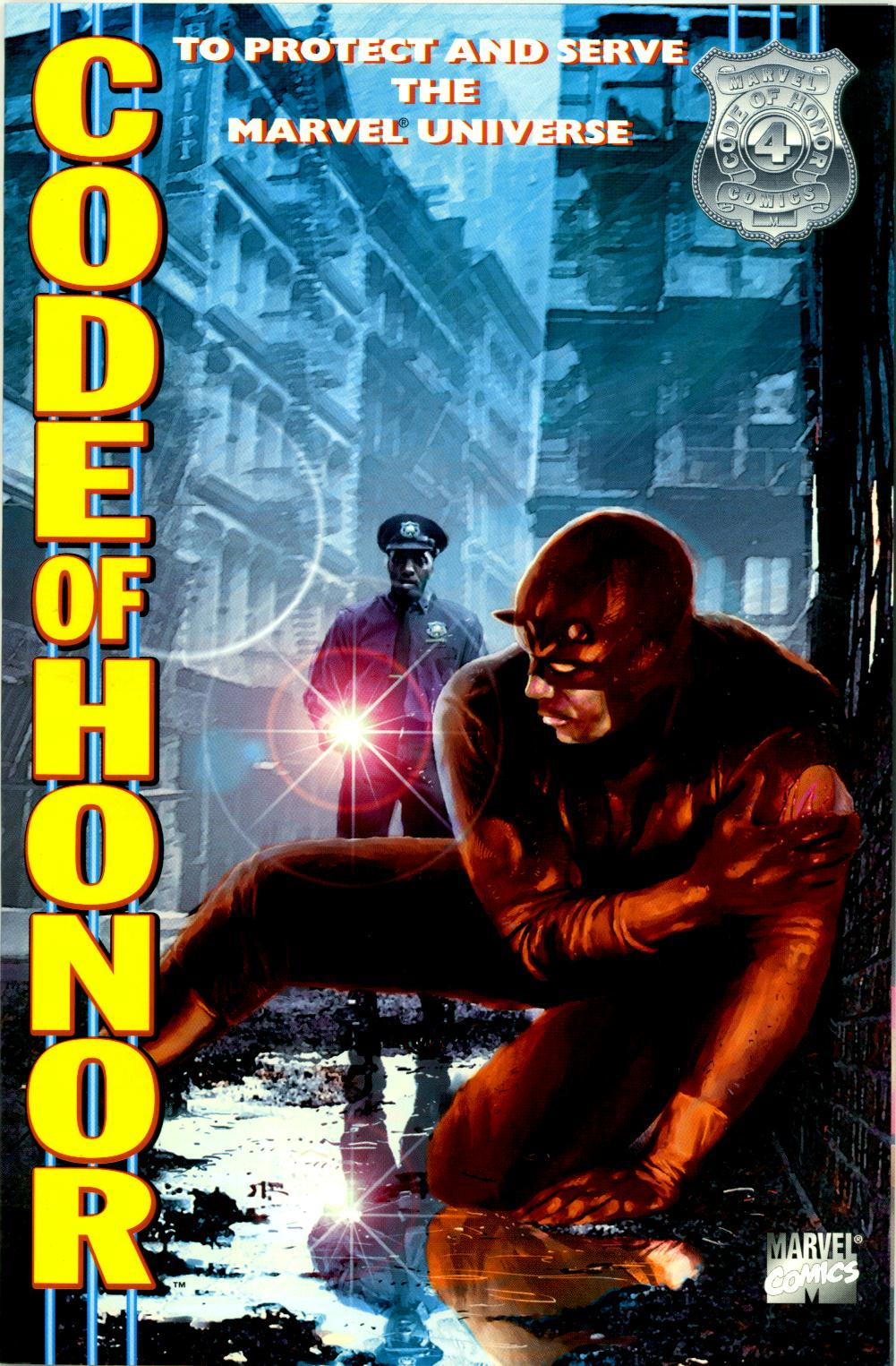 Read online Code of Honor comic -  Issue #4 - 1