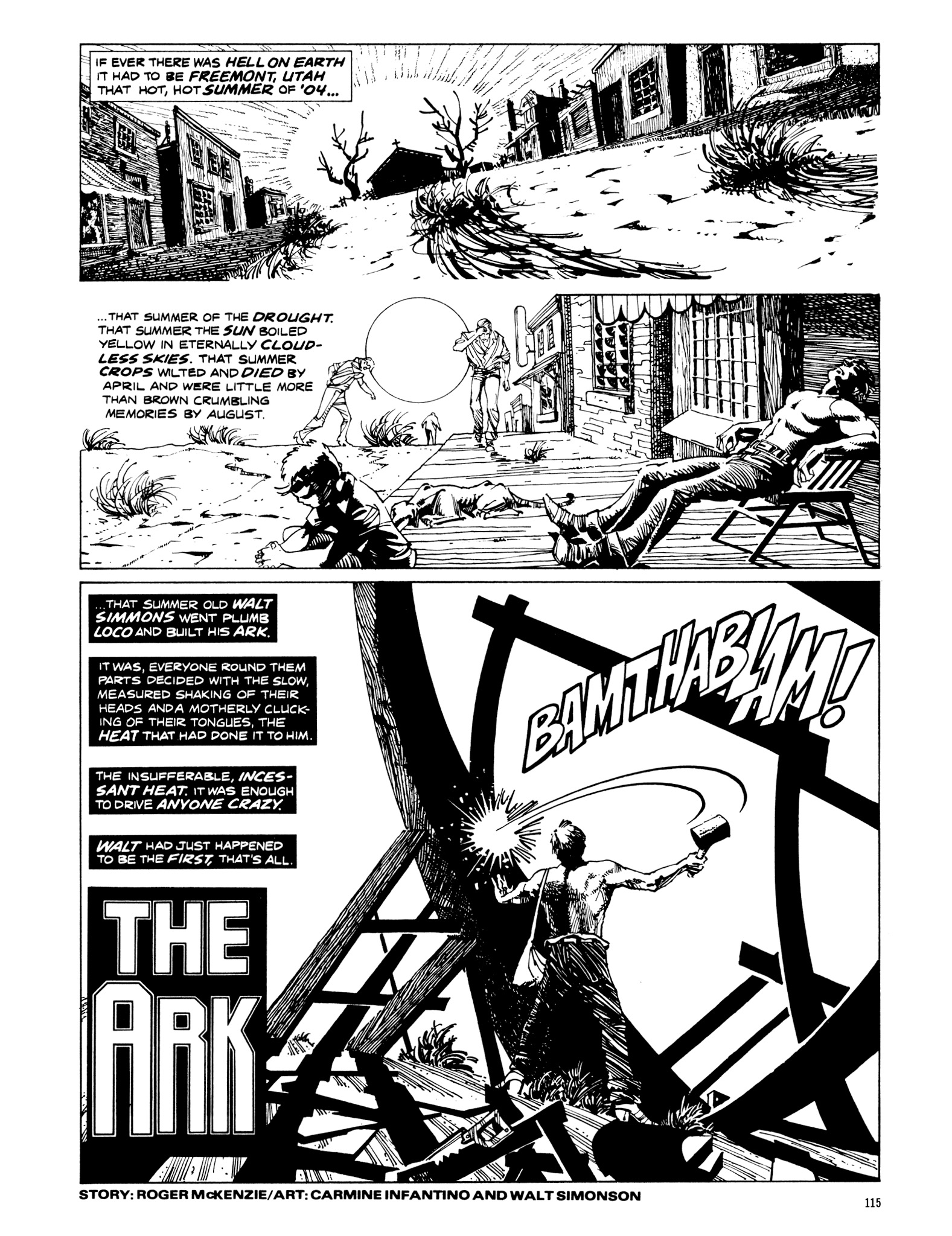 Read online Eerie Archives comic -  Issue # TPB 20 - 115