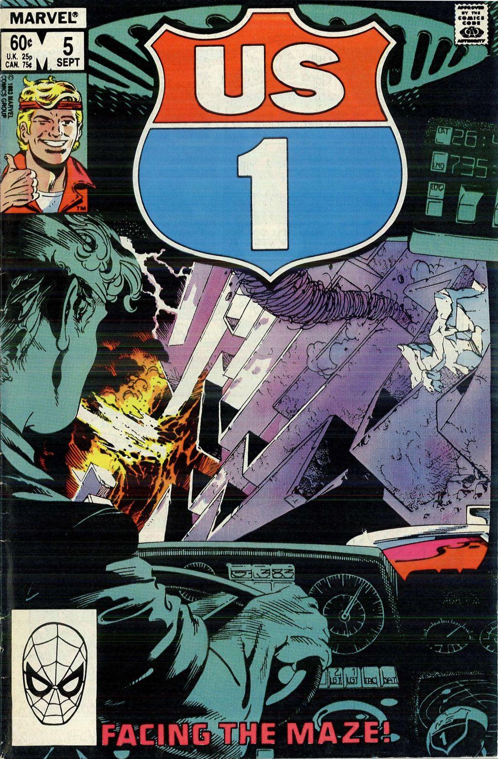 Read online U.S. 1 comic -  Issue #5 - 1