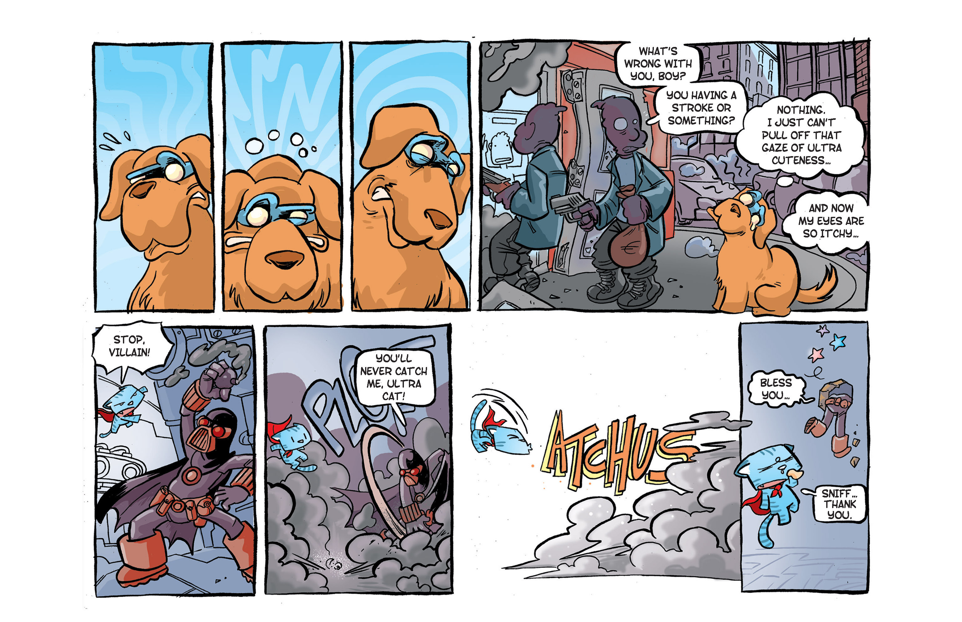 Read online Ultracat comic -  Issue #2 - 13