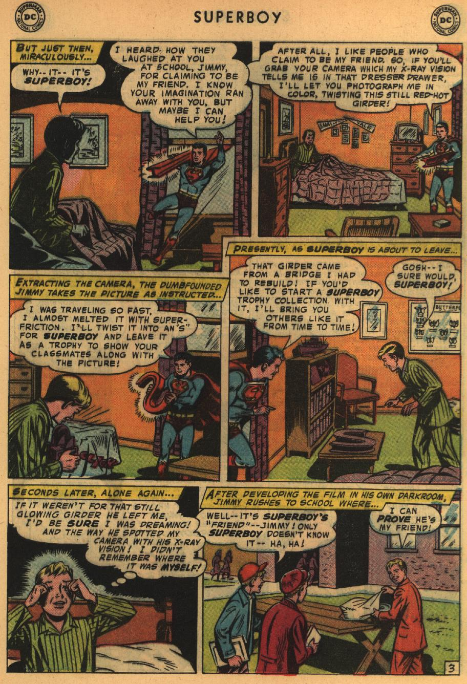 Superboy (1949) issue 64 - Page 4