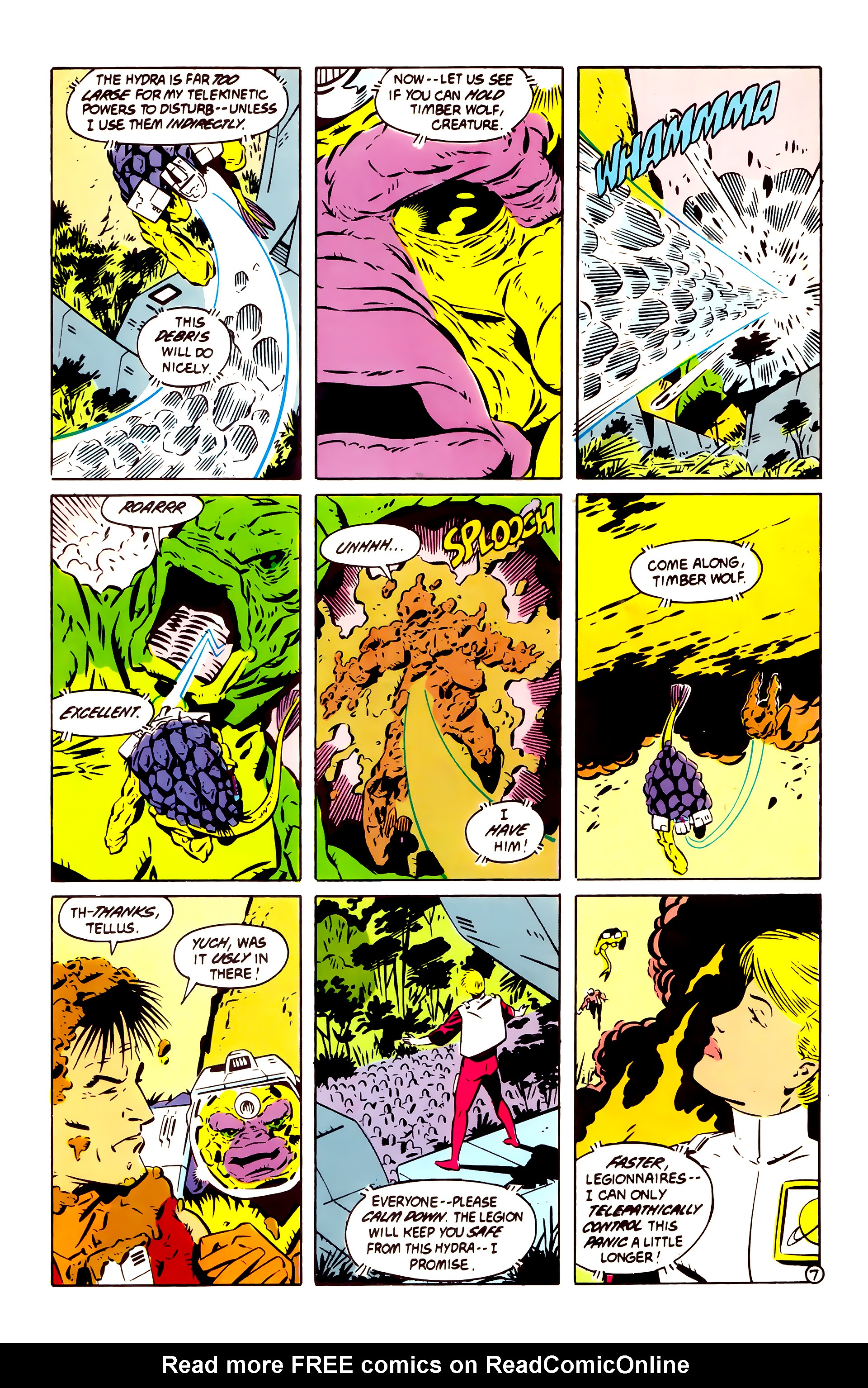 Legion of Super-Heroes (1984) 60 Page 7