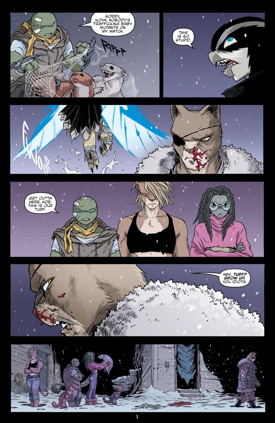 Read online Teenage Mutant Ninja Turtles (2011) comic -  Issue #104 - 4