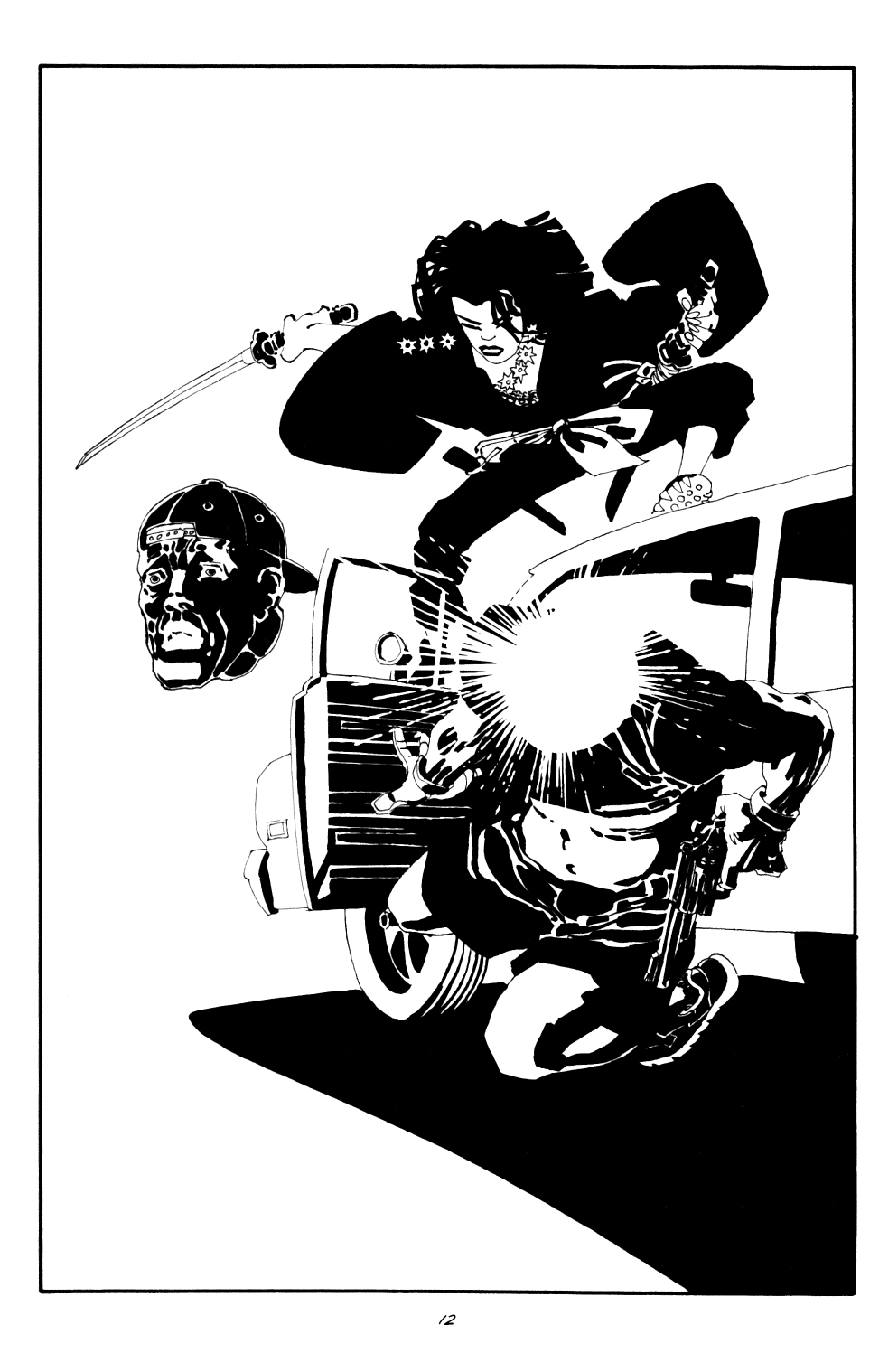 Read online Sin City: The Big Fat Kill comic -  Issue #2 - 13