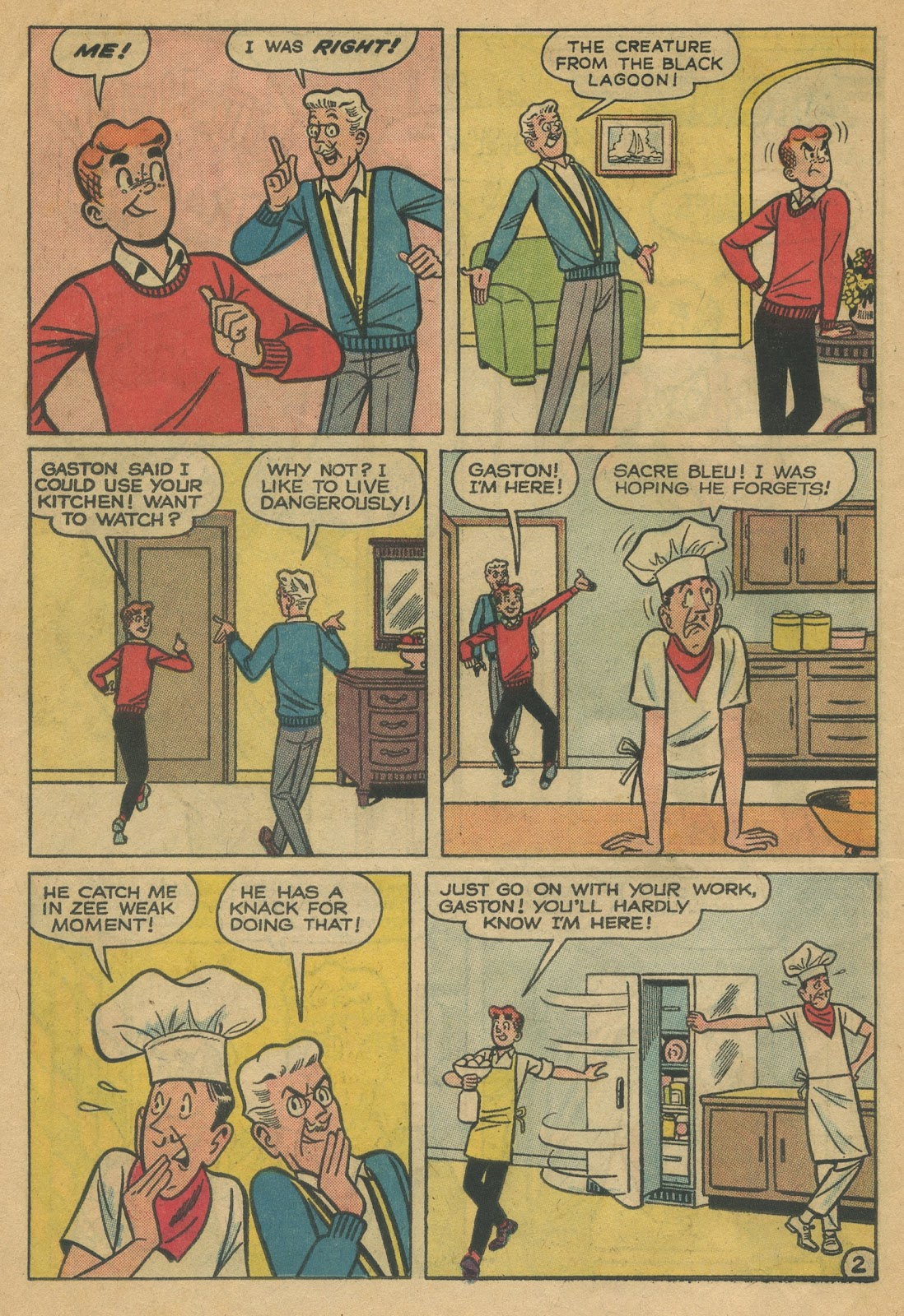 Read online Archie (1960) comic -  Issue #152 - 30