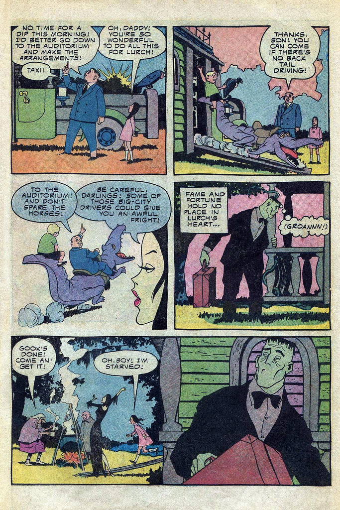 Read online Addams Family comic -  Issue #3 - 3