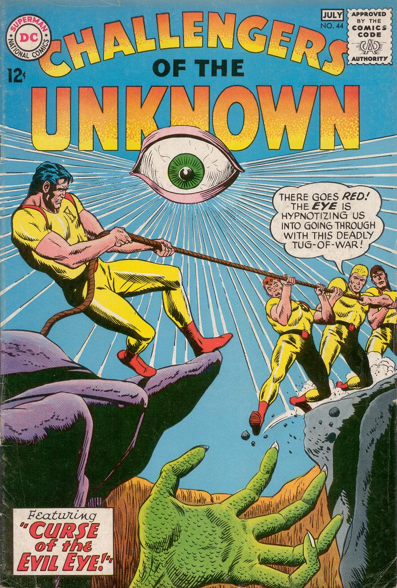 Challengers of the Unknown (1958) issue 44 - Page 1