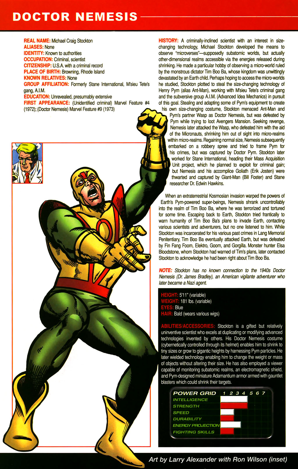 Read online All-New Official Handbook of the Marvel Universe A to Z comic -  Issue #3 - 56