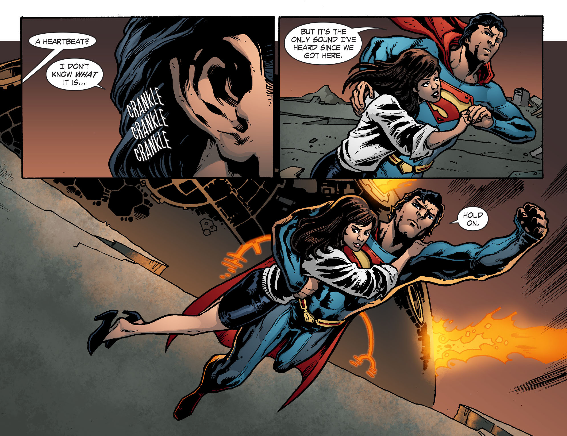 Read online Smallville: Chaos [II] comic -  Issue #7 - 10