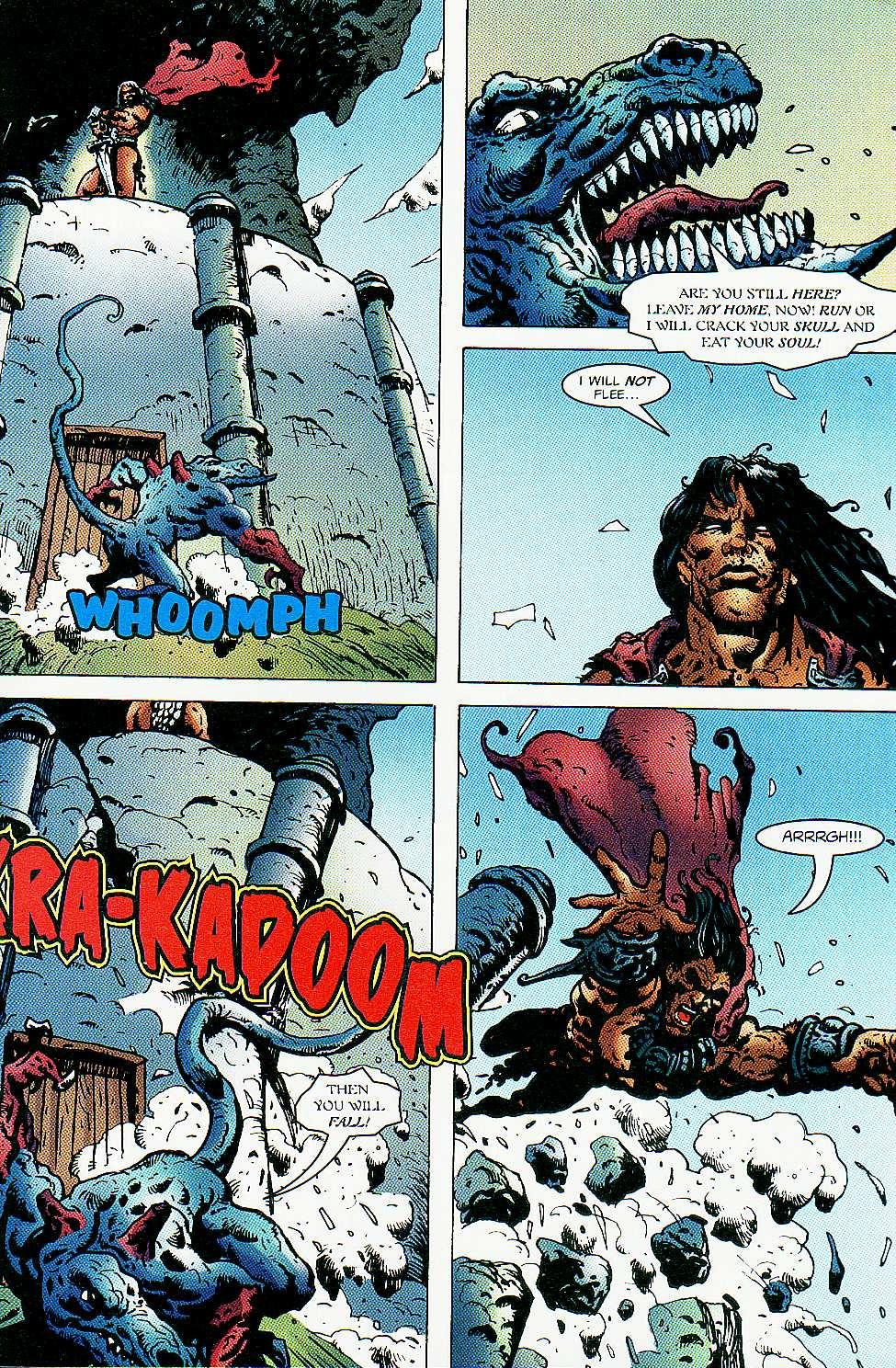 Read online Conan: Return of Styrm comic -  Issue #3 - 25