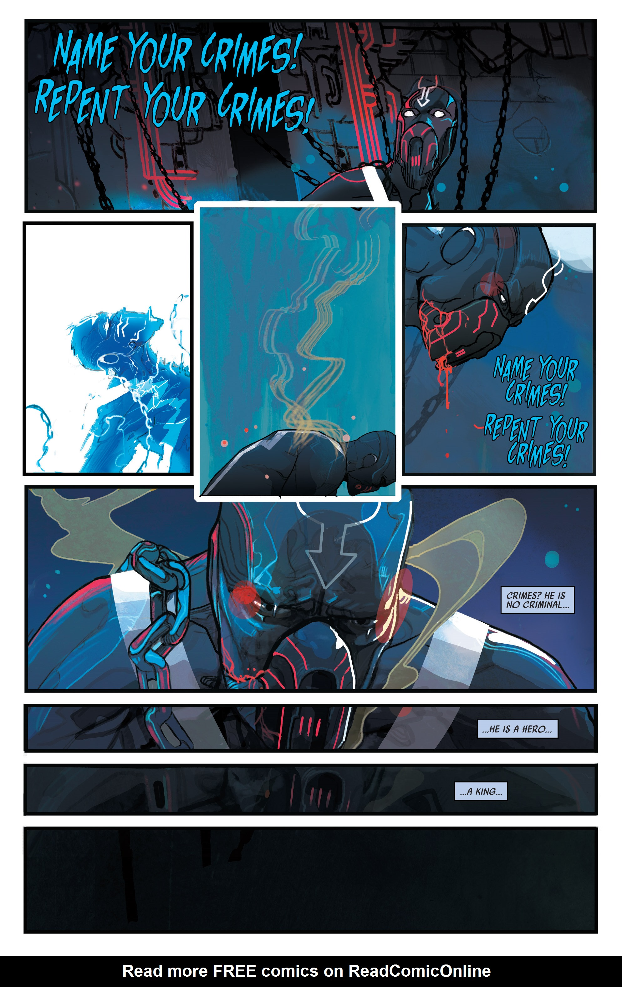 Read online Black Bolt comic -  Issue #1 - 4