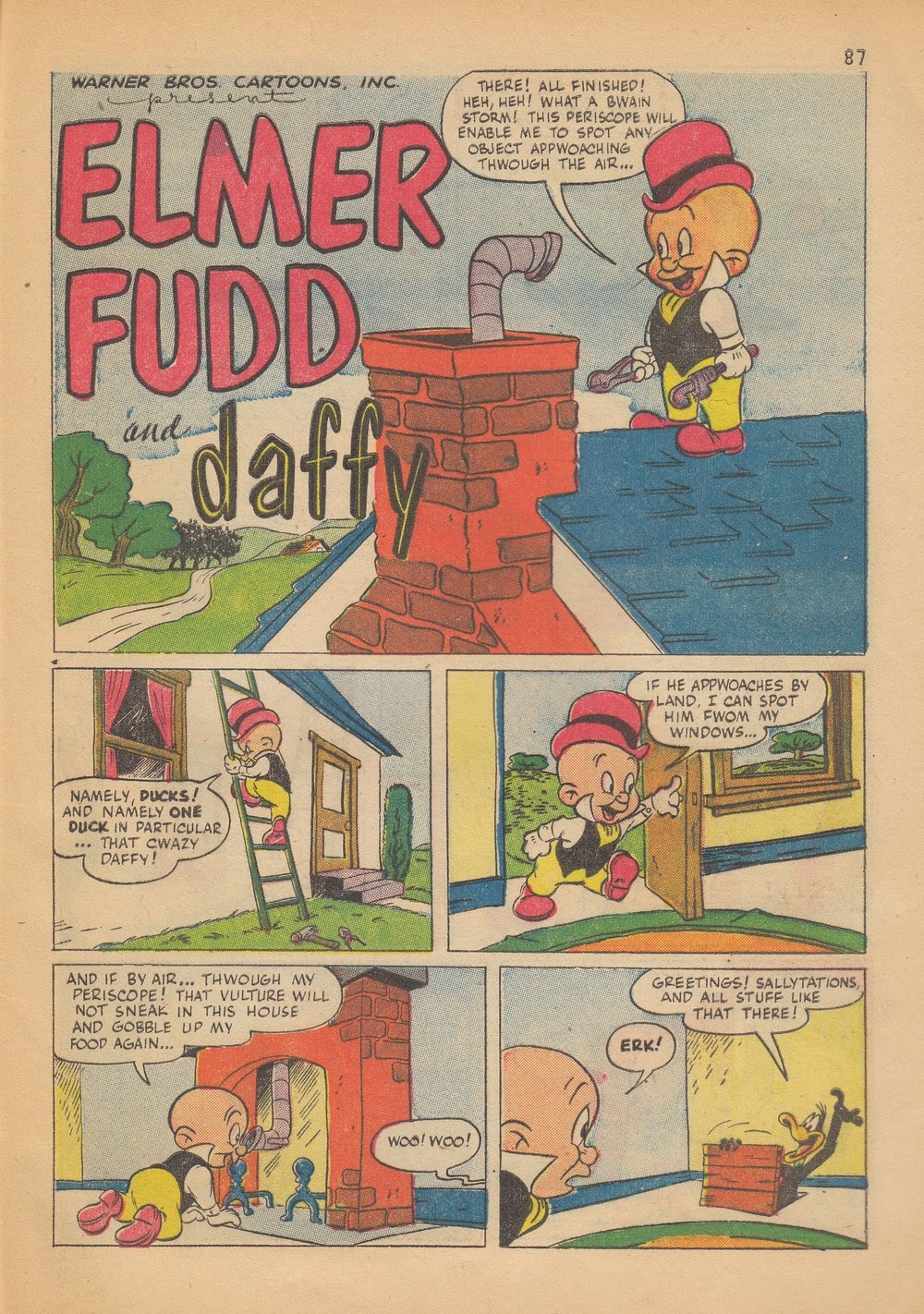 Bugs Bunny's Christmas Funnies issue TPB 4 - Page 89