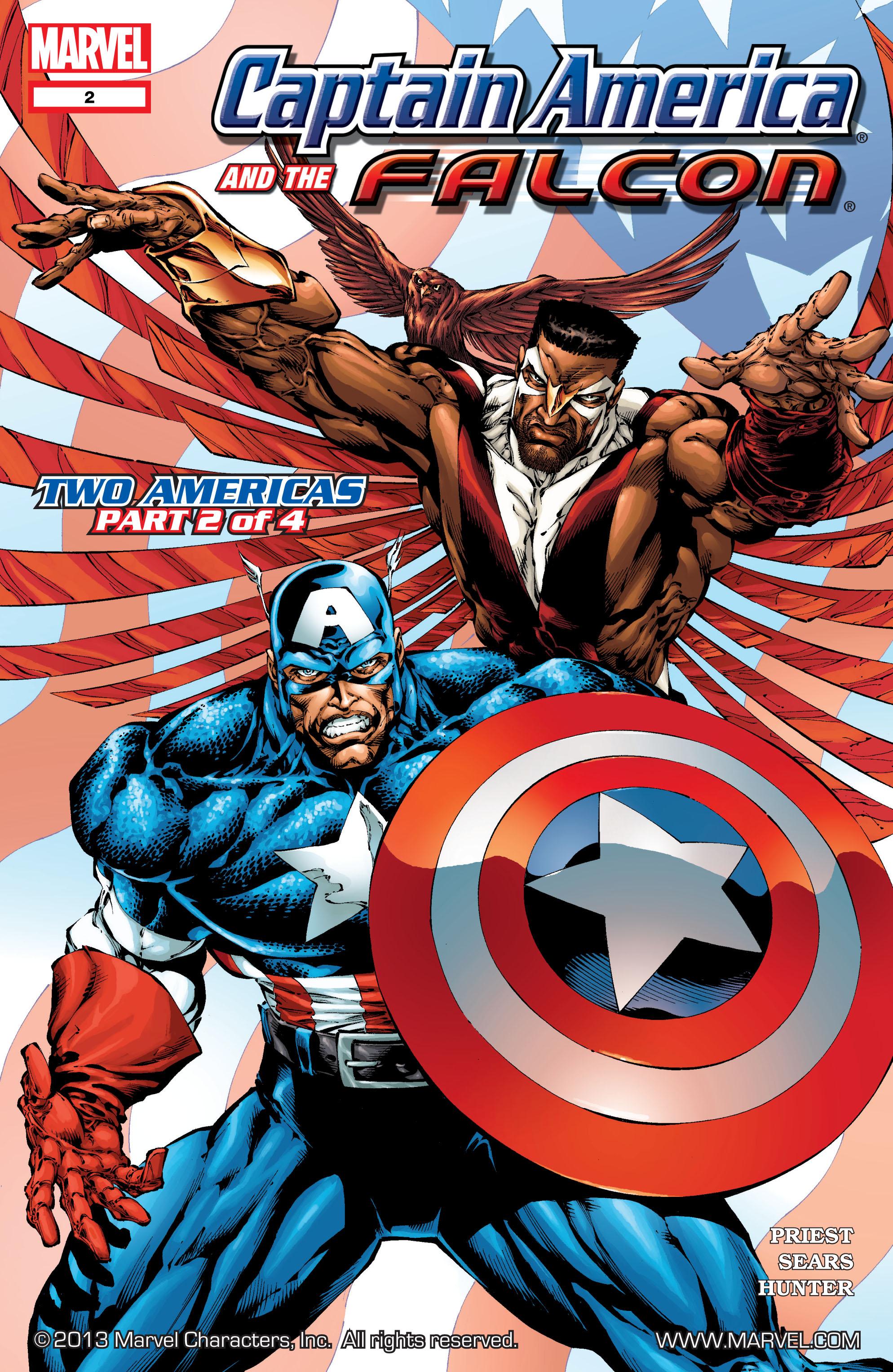 Captain America & the Falcon 2 Page 1