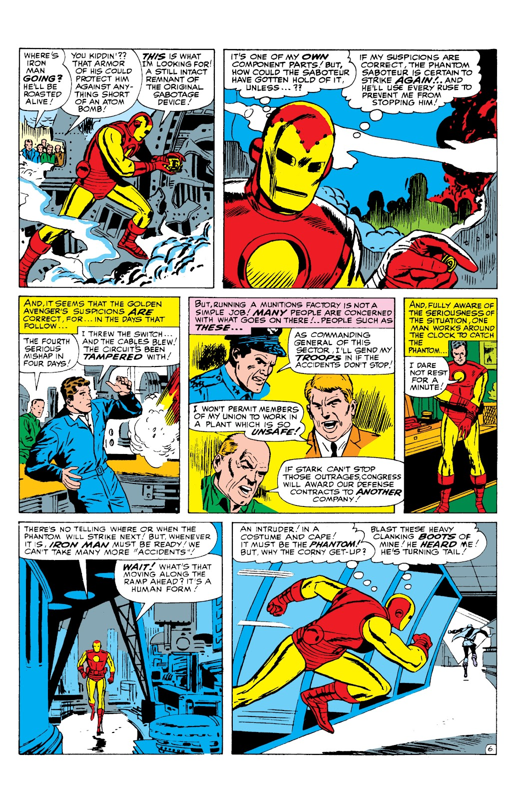 Read online Marvel Masterworks: The Invincible Iron Man comic -  Issue # TPB 2 (Part 3) - 6