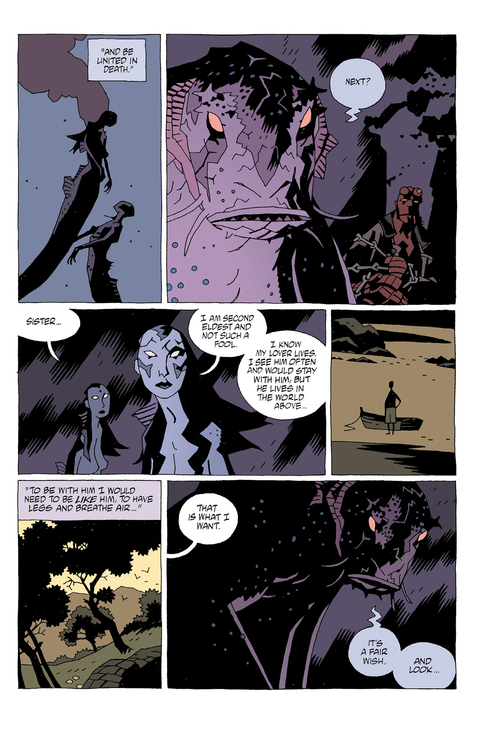 Read online Hellboy: Strange Places comic -  Issue # TPB - 31