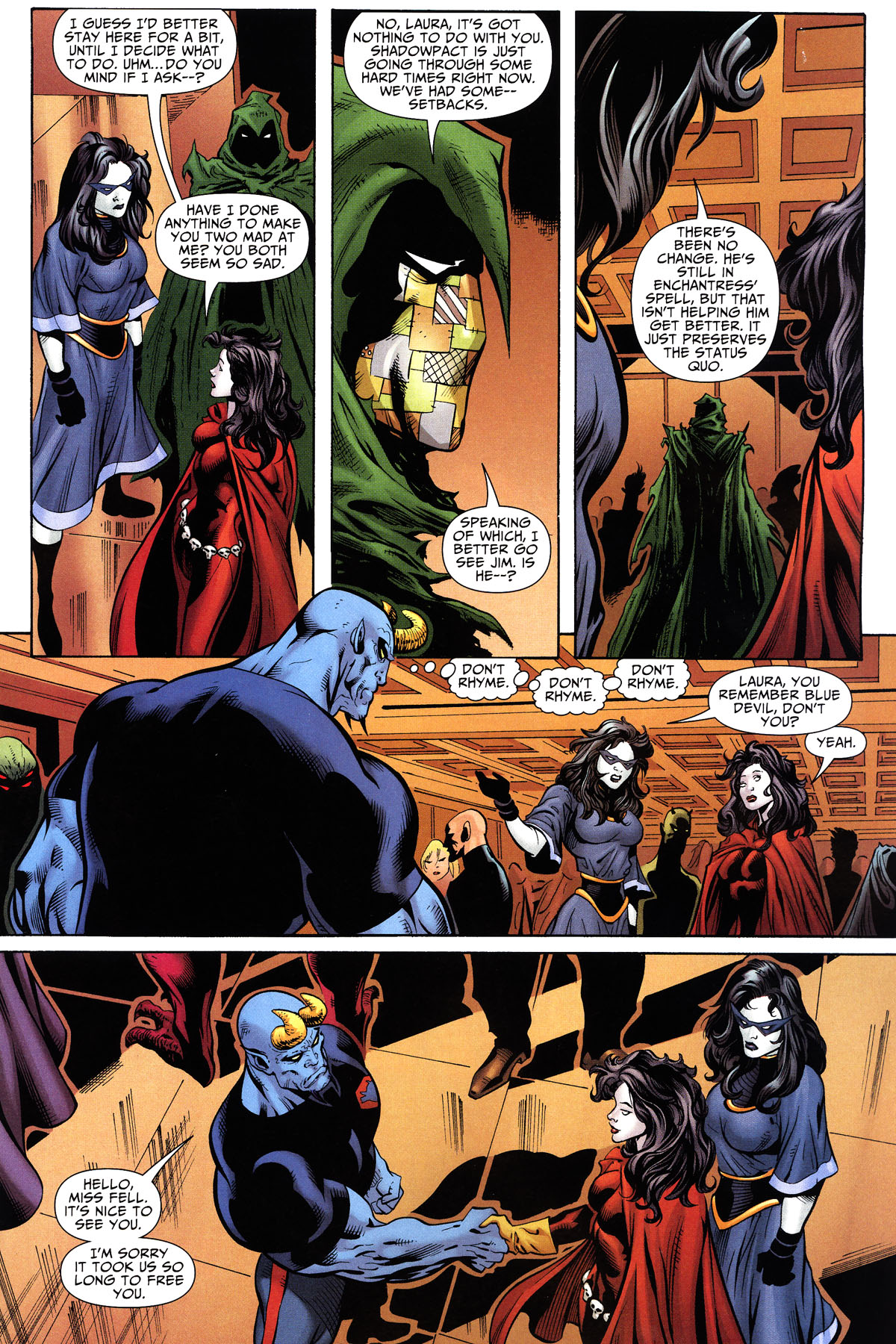 Read online Shadowpact comic -  Issue #10 - 7