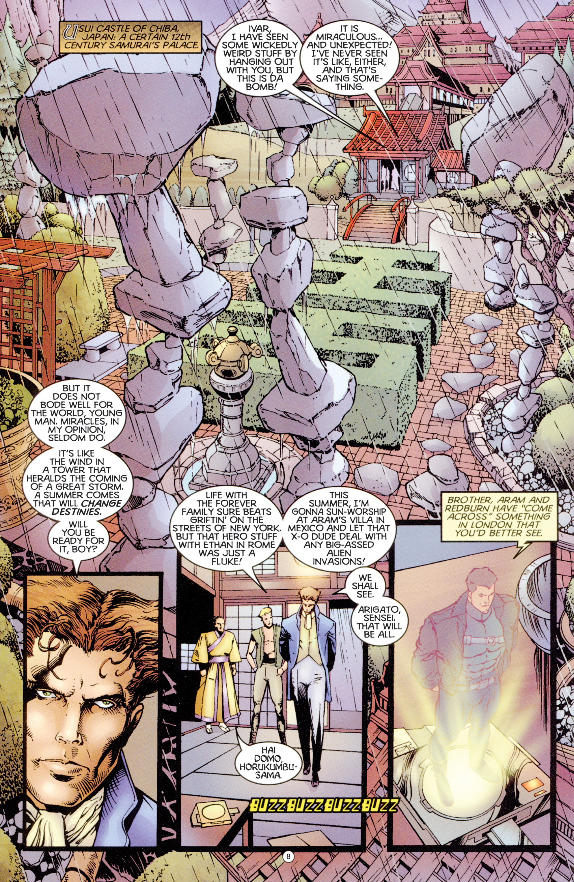 Read online Eternal Warriors comic -  Issue # Issue Digital Alchemy - 7