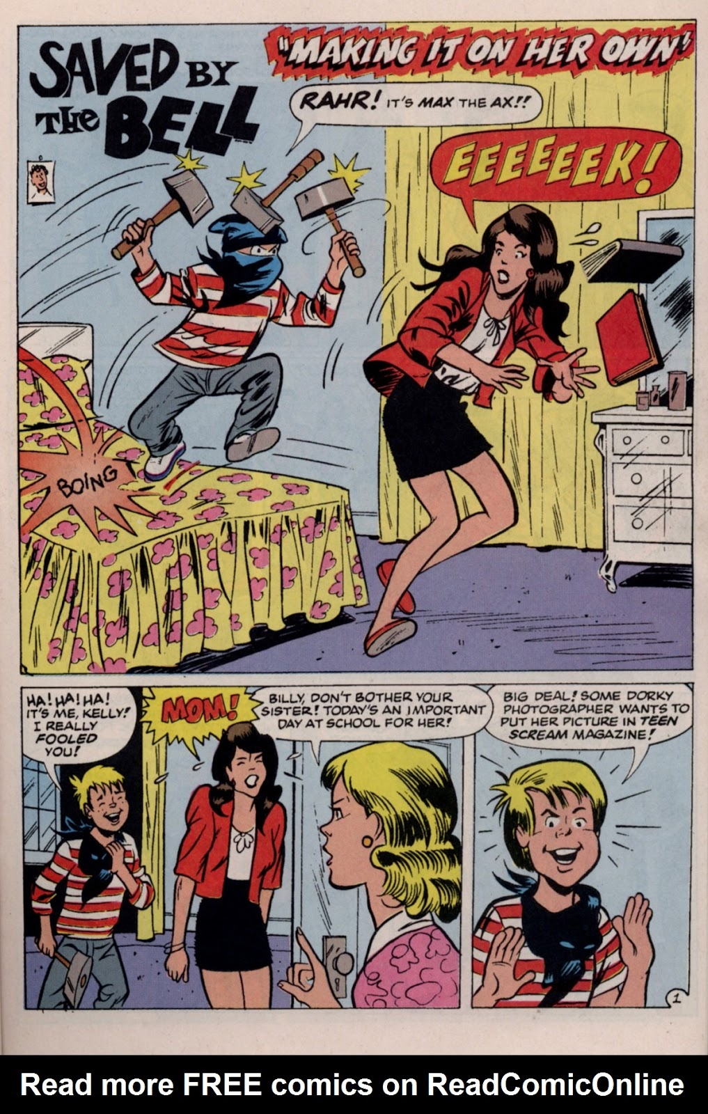Read online Saved By The Bell comic -  Issue #2 - 22