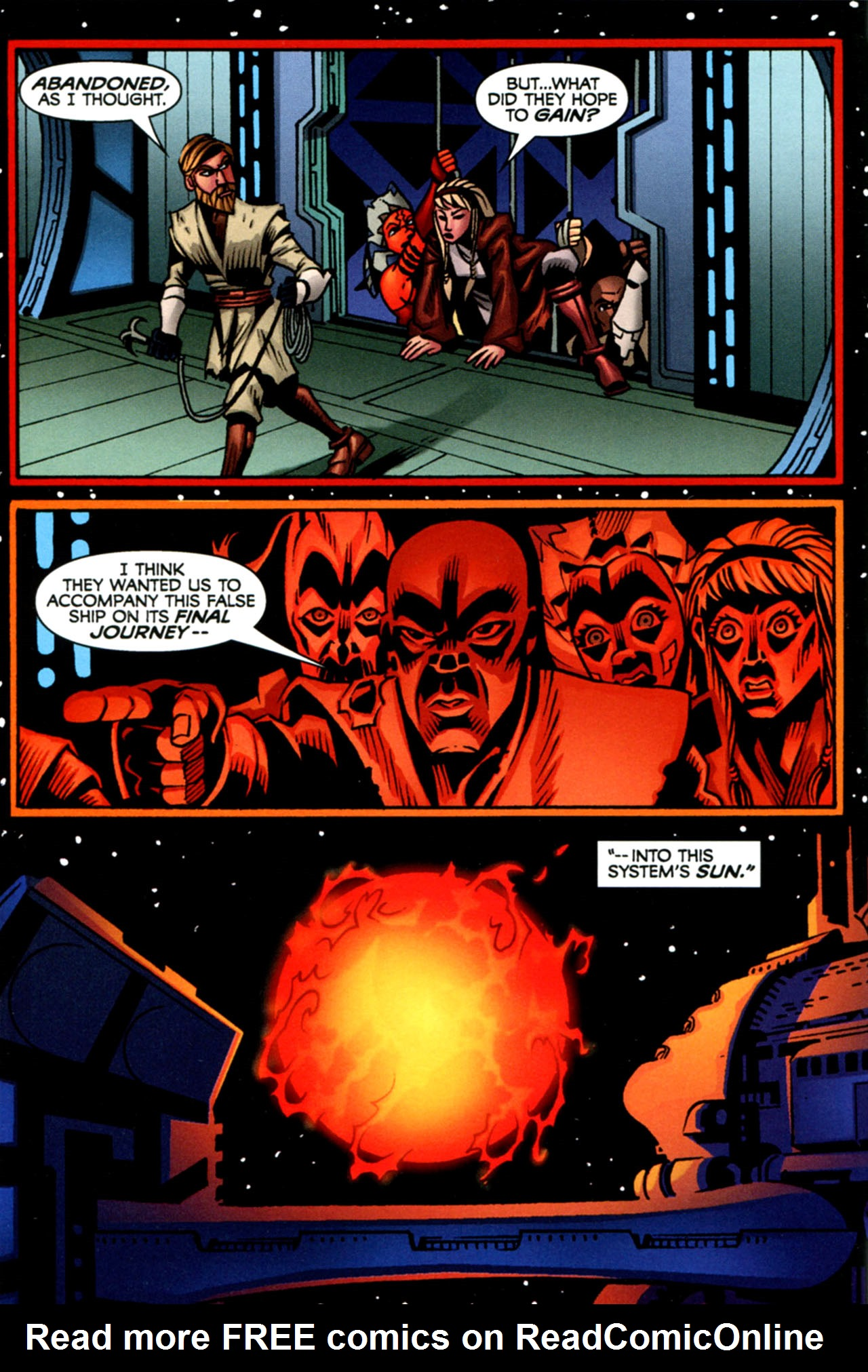 Read online Star Wars: The Clone Wars - The Starcrusher Trap comic -  Issue # Full - 43