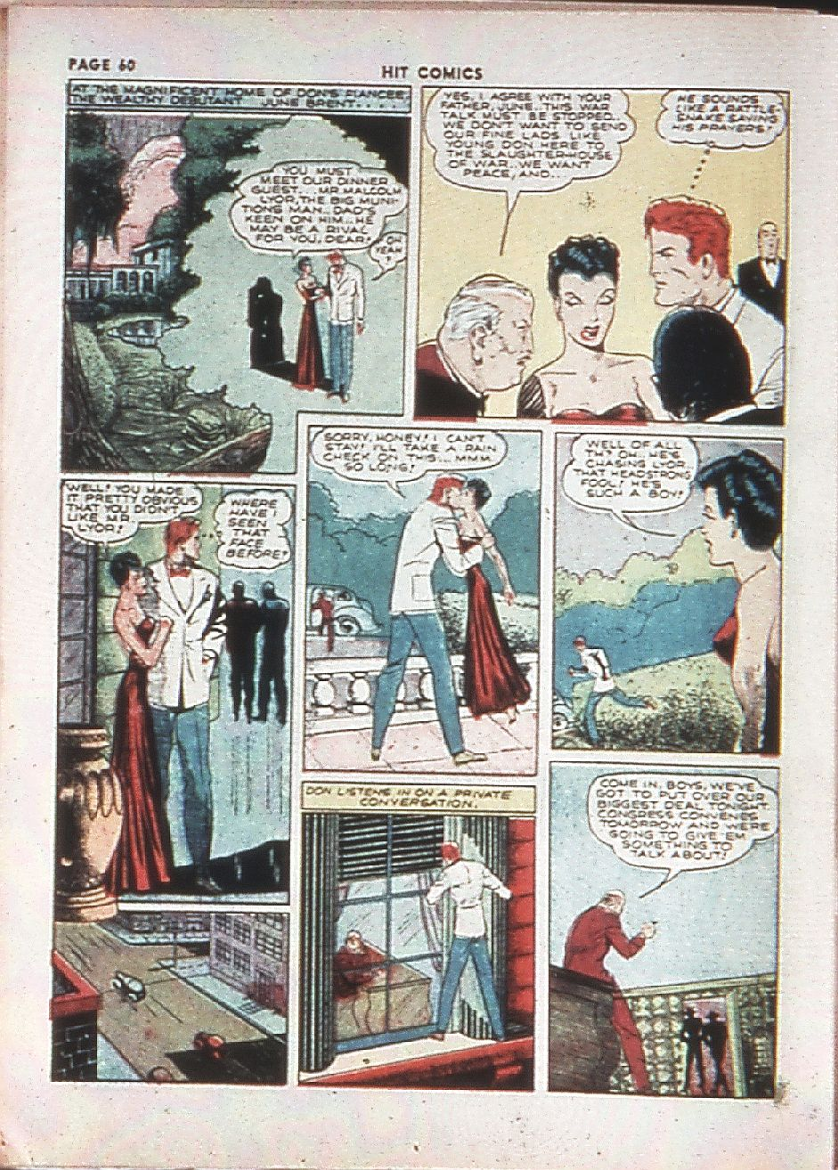 Read online Hit Comics comic -  Issue #10 - 62