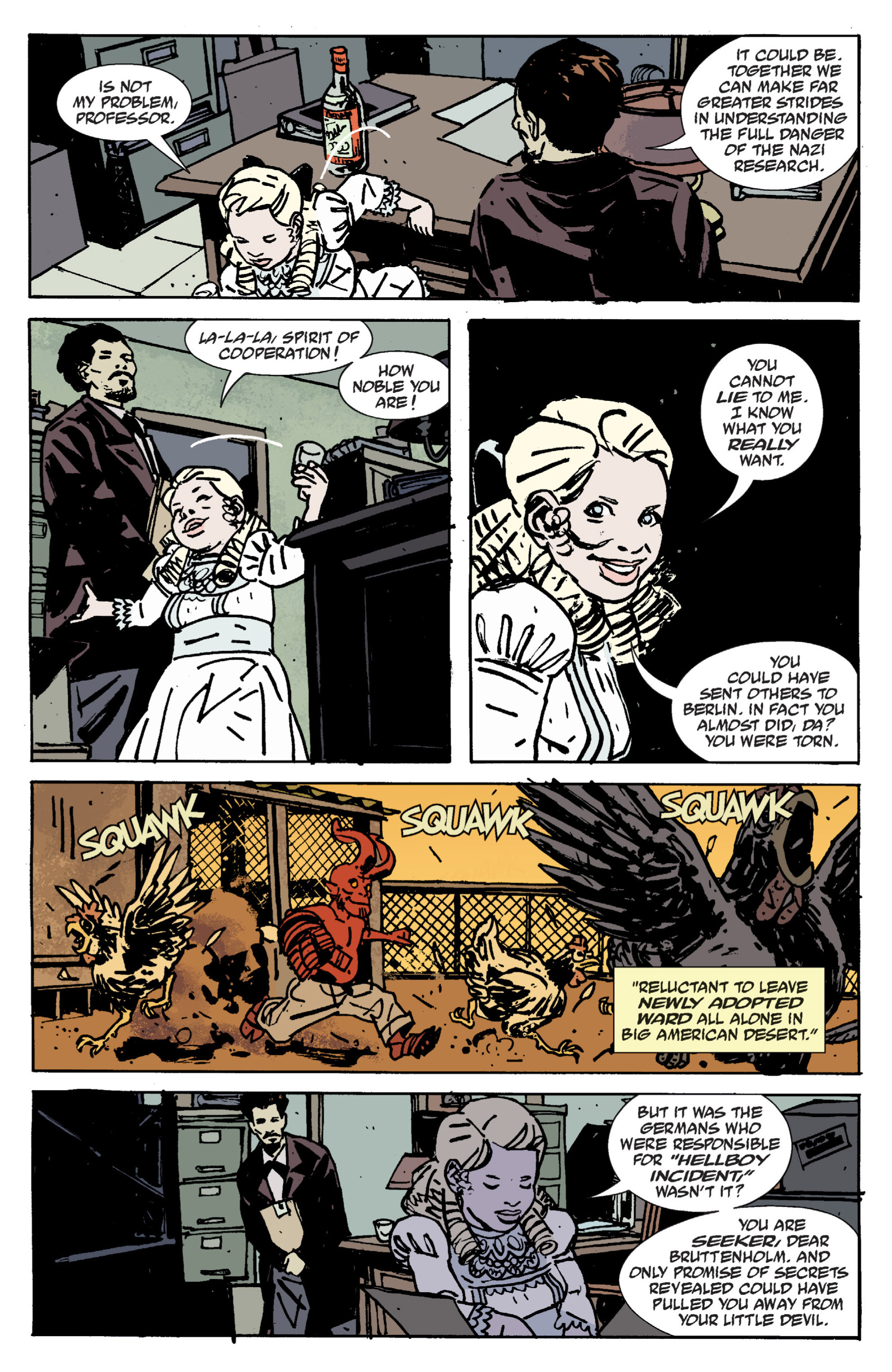 Read online B.P.R.D. (2003) comic -  Issue # TPB 9 - 24