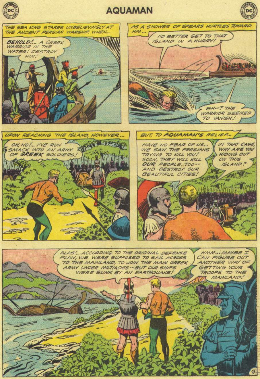 Read online Aquaman (1962) comic -  Issue #3 - 13