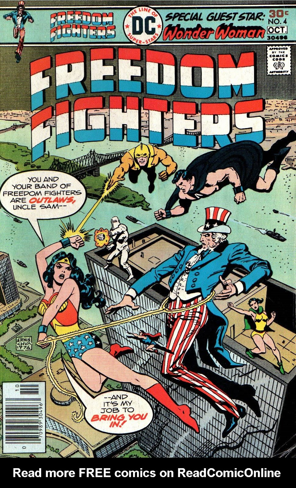 Freedom Fighters (1976) issue 4 - Page 1