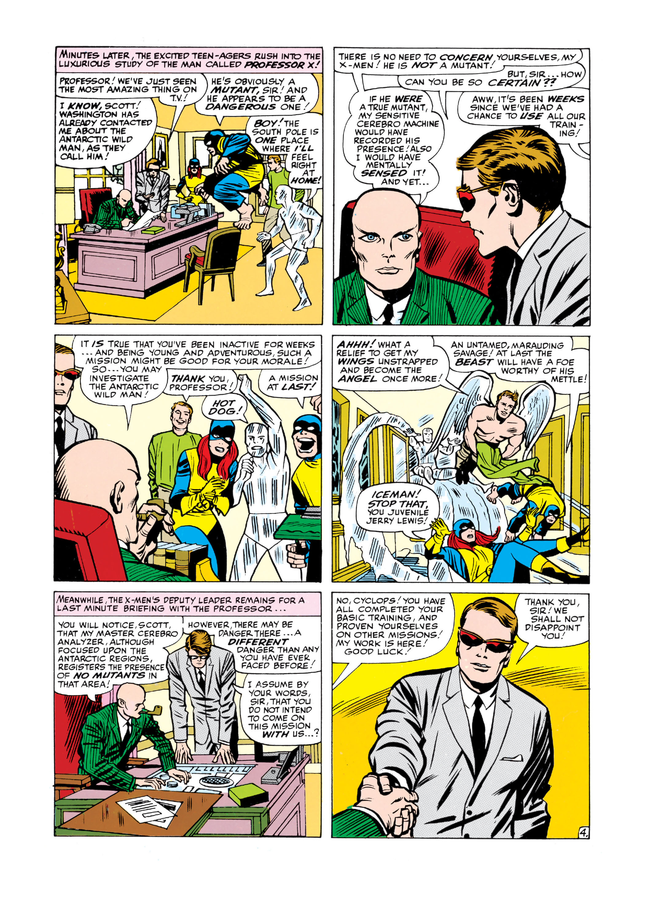 Read online Uncanny X-Men (1963) comic -  Issue #10 - 5
