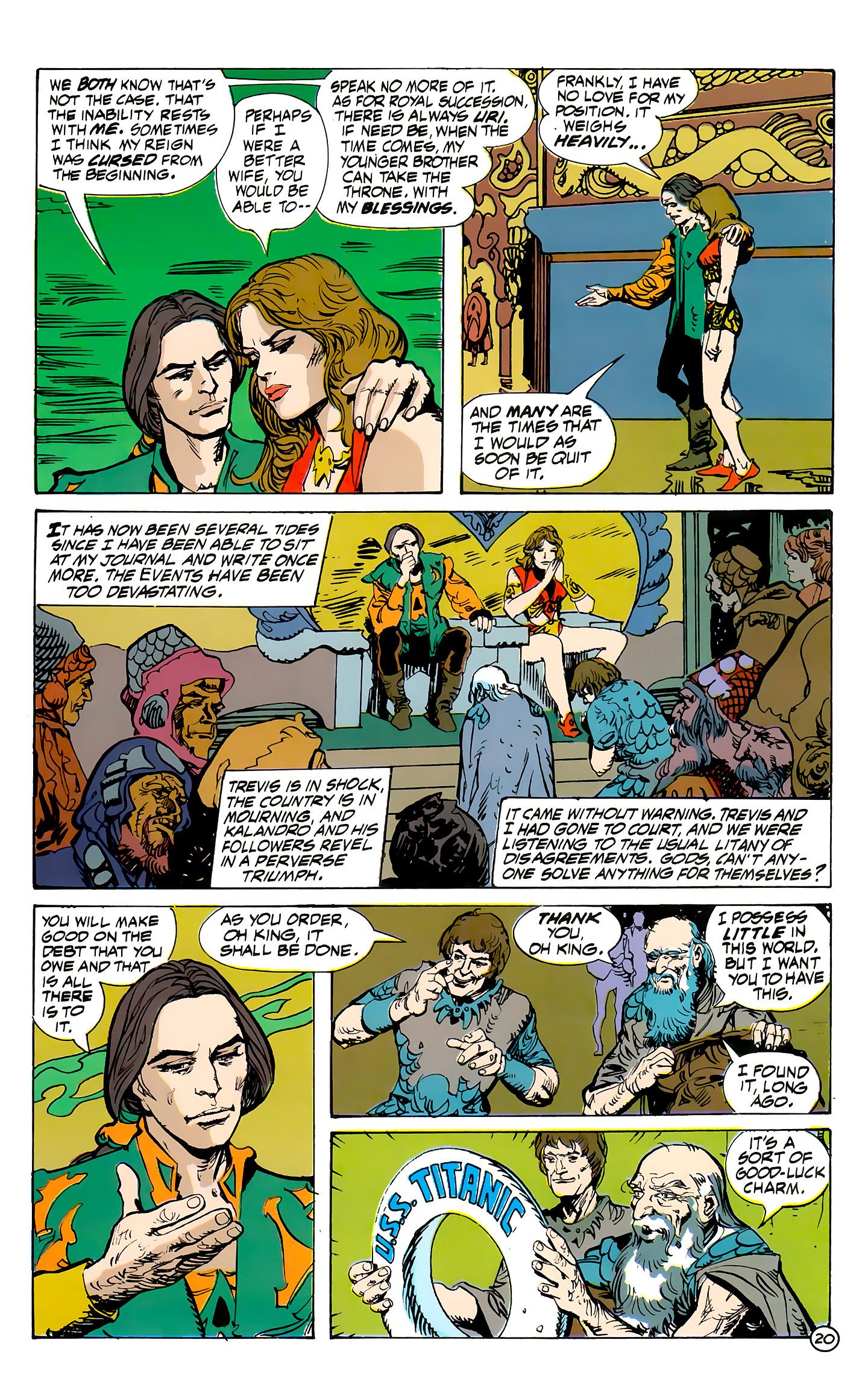 Read online Atlantis Chronicles comic -  Issue #7 - 21