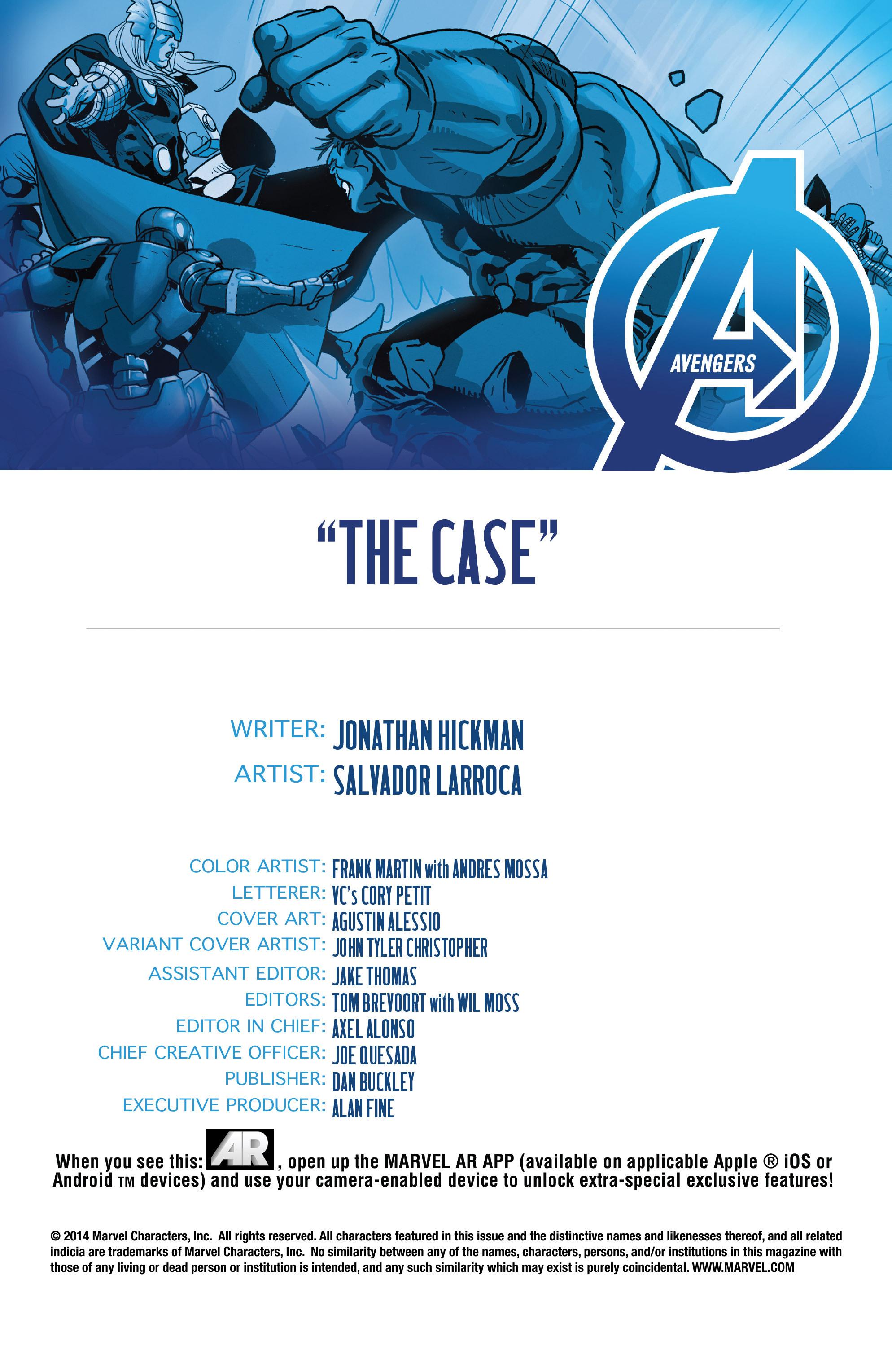 Read online Avengers (2013) comic -  Issue #Avengers (2013) _TPB 5 - 134