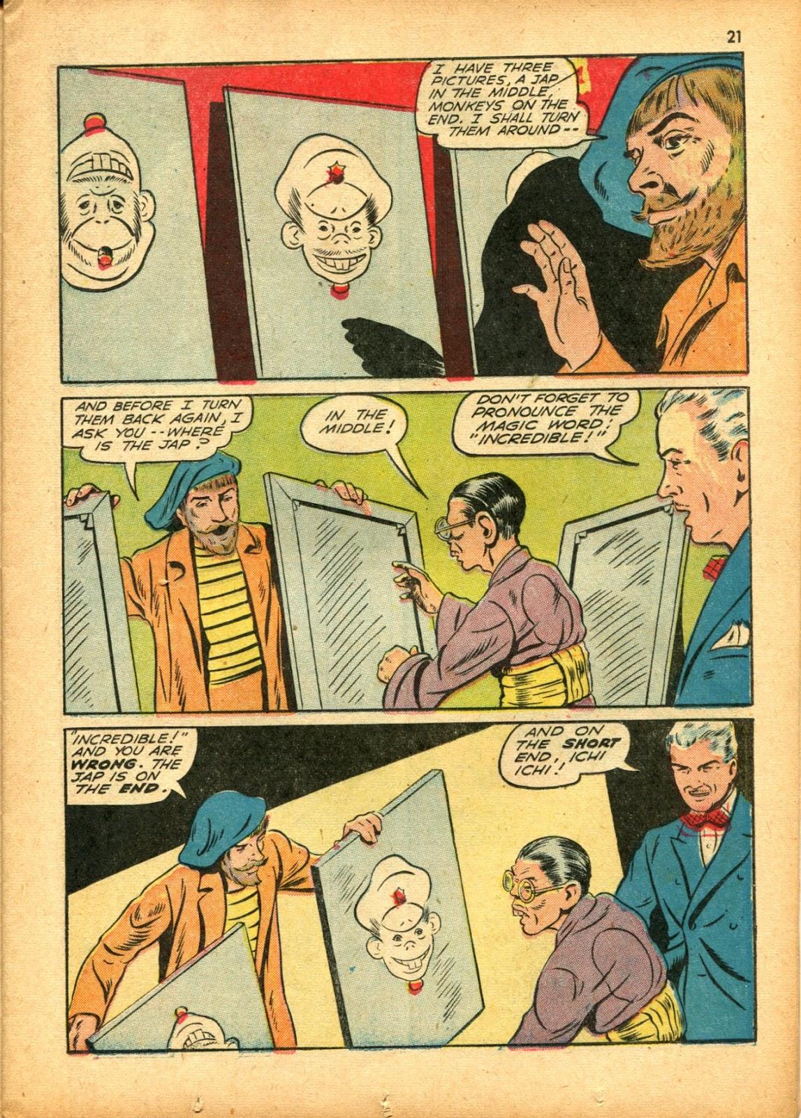 Read online Super-Magician Comics comic -  Issue #15 - 21