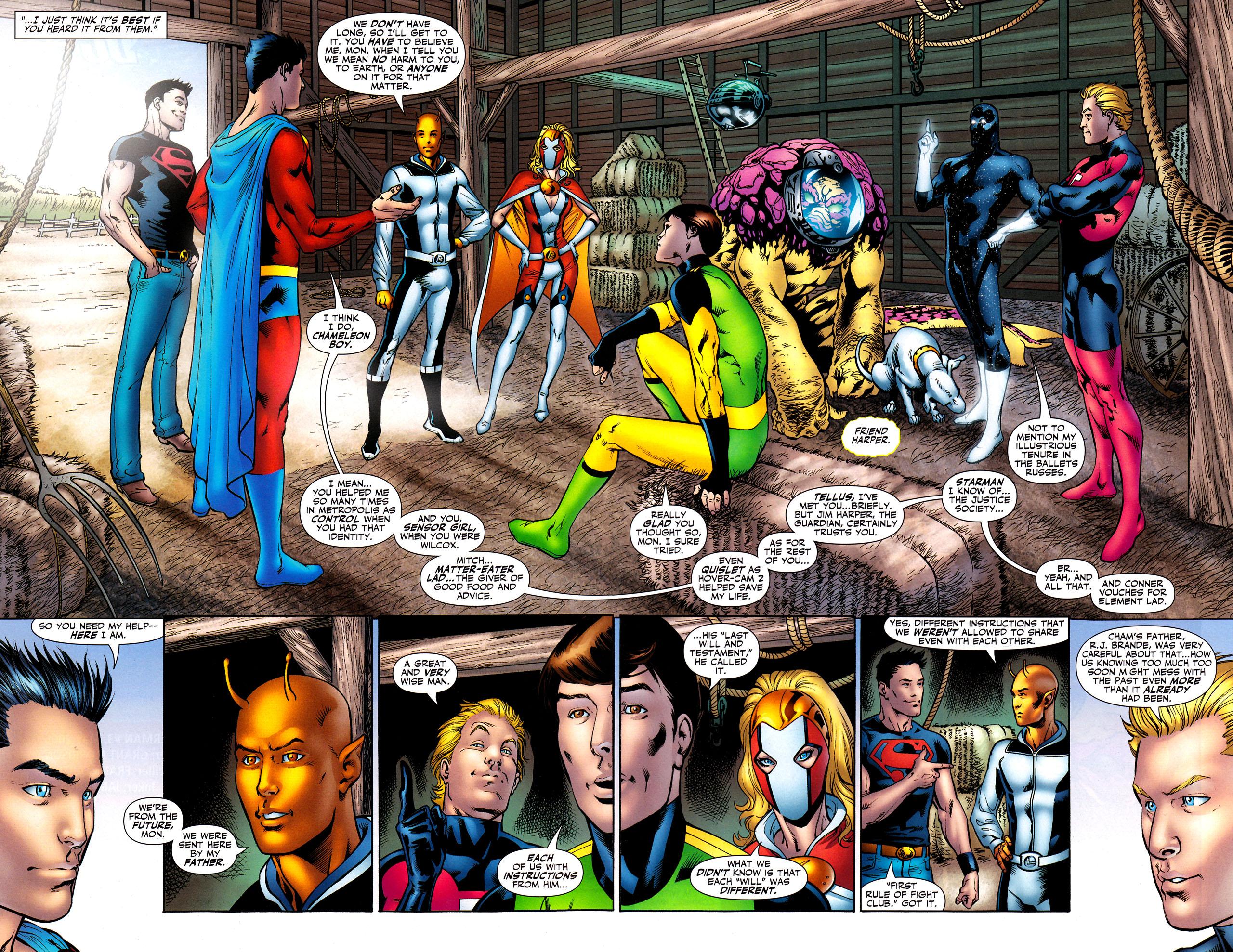 Read online Adventure Comics (2009) comic -  Issue #8 - 16