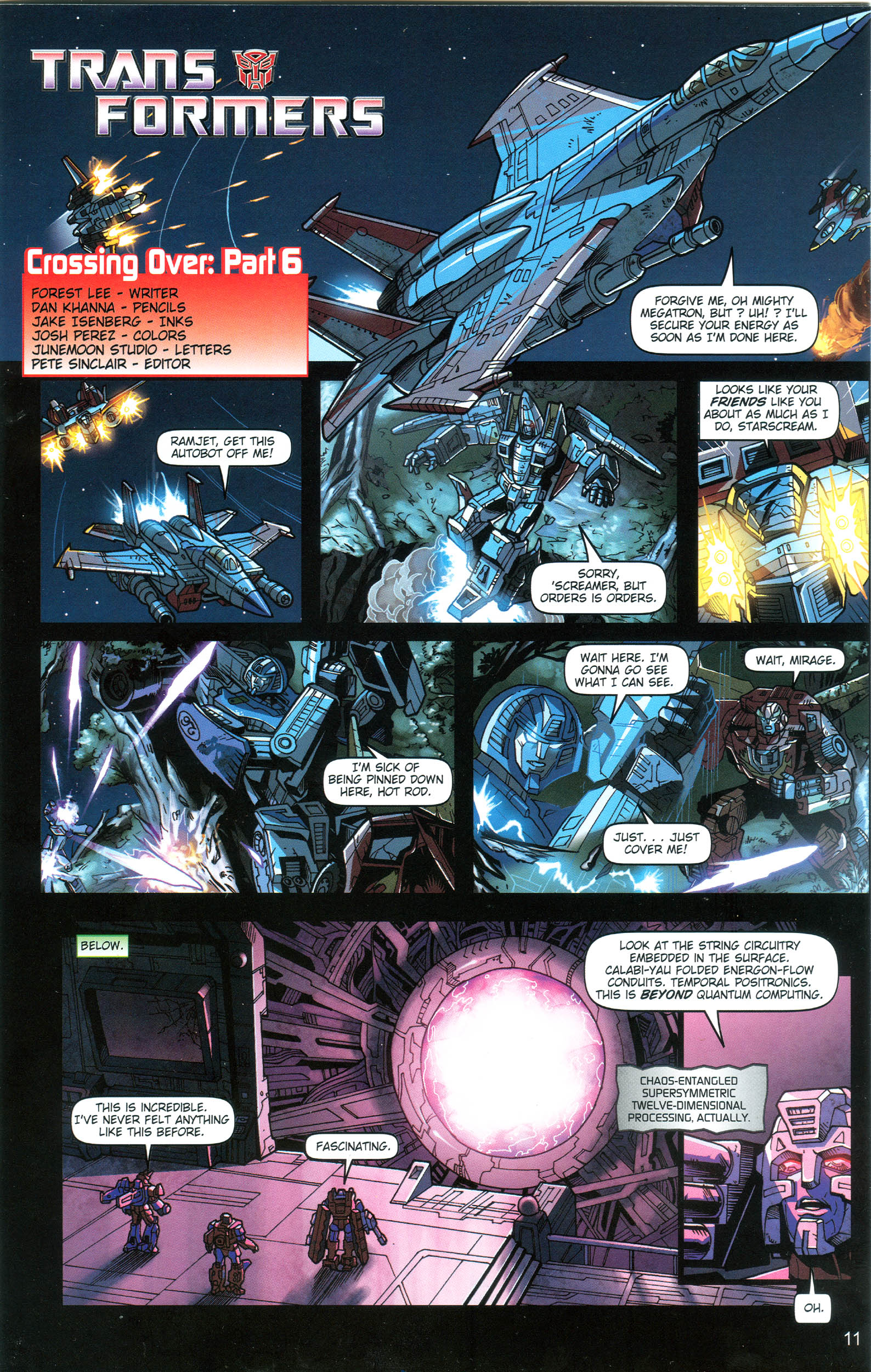 Read online Transformers: Collectors' Club comic -  Issue #18 - 11