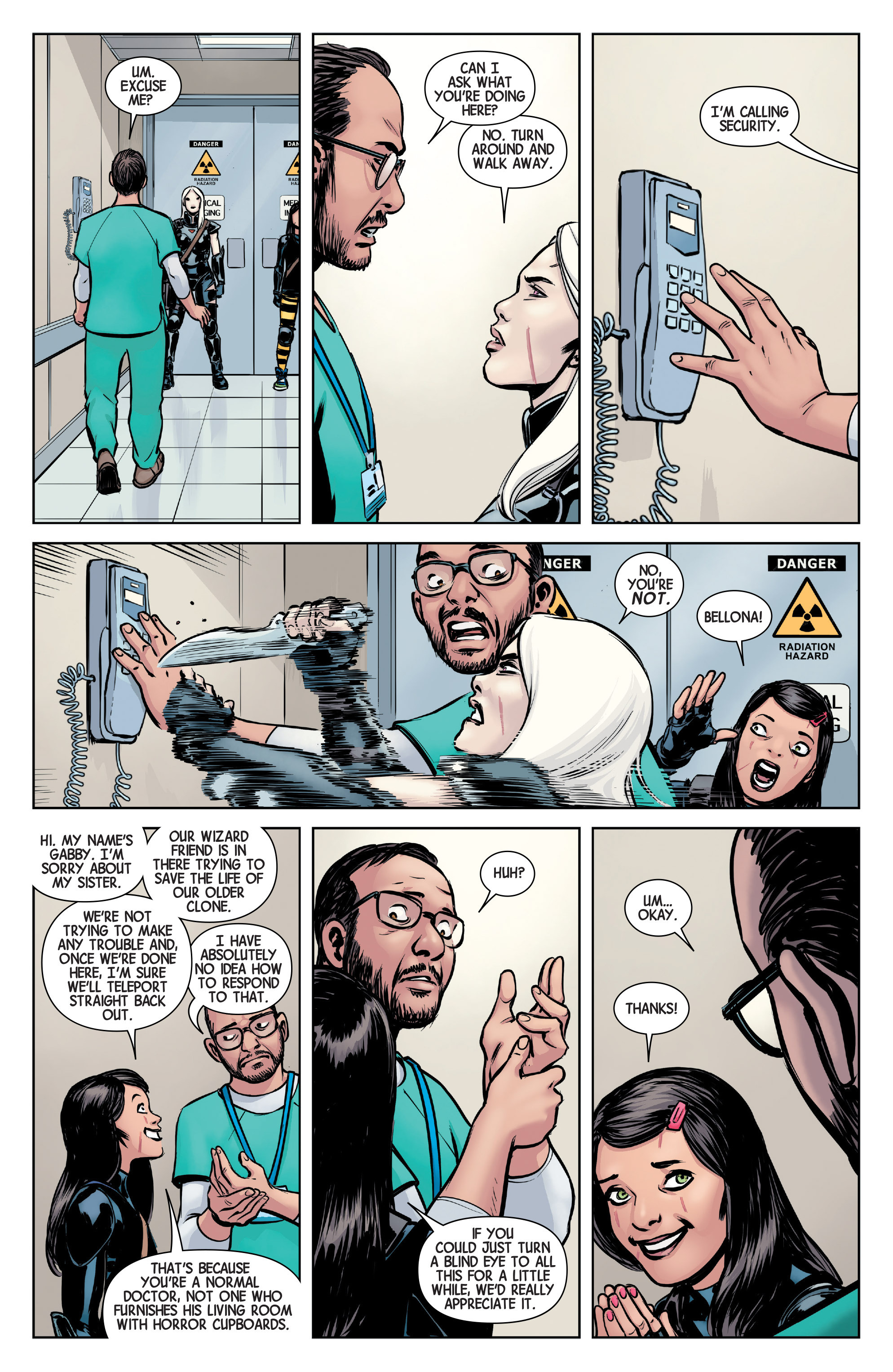 Read online All-New Wolverine (2016) comic -  Issue #4 - 20
