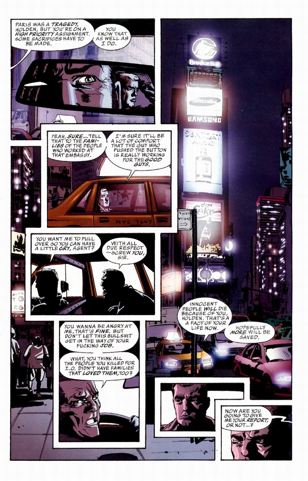 Read online Sleeper comic -  Issue #3 - 5