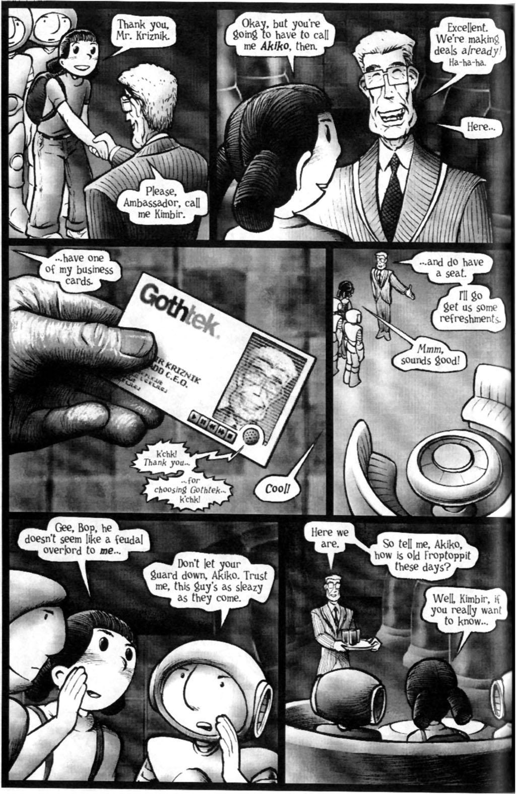 Read online Akiko comic -  Issue #Akiko _TPB 7 - 71